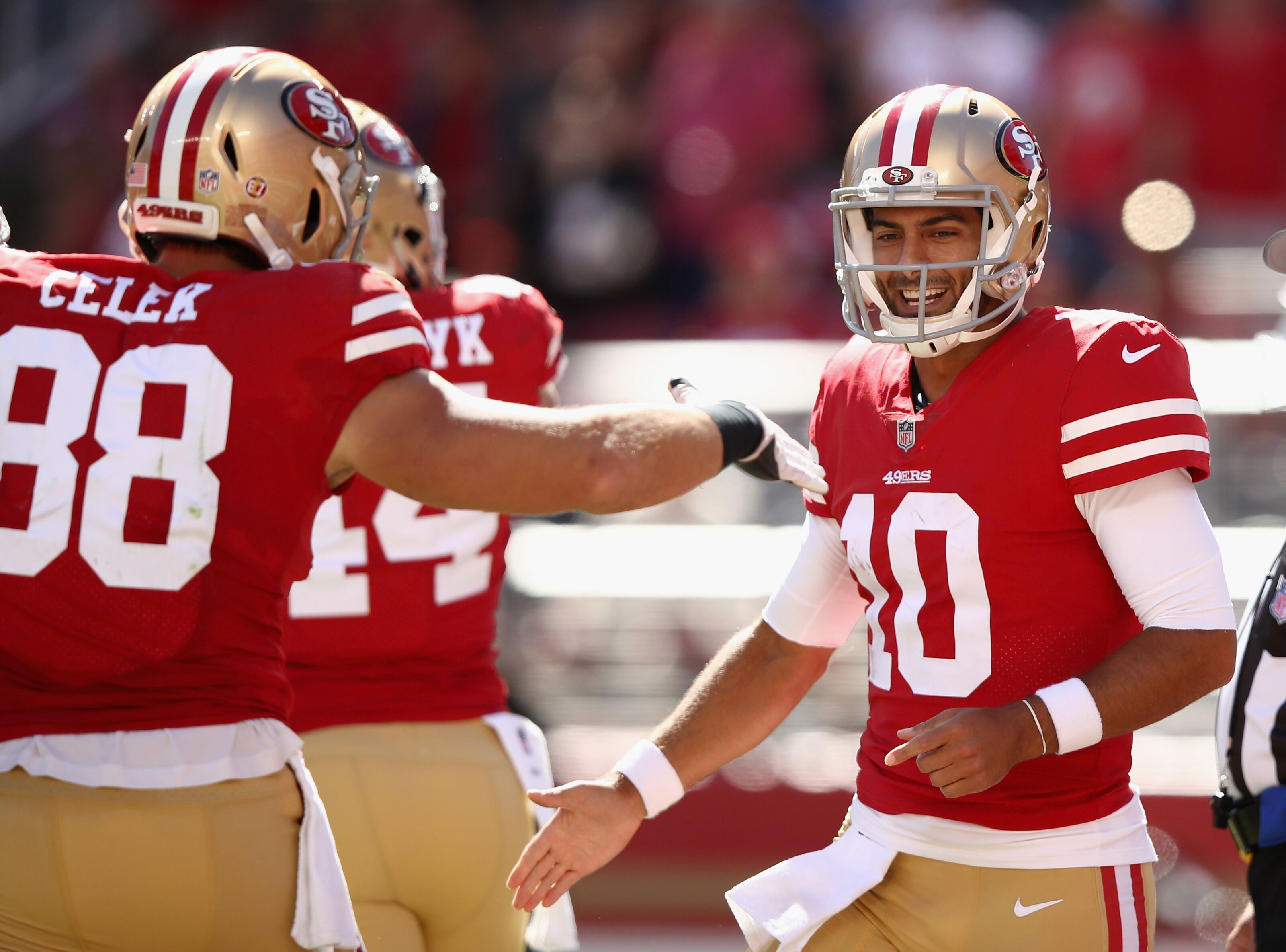 San Francisco 49ers ceiling so high it can't be reached