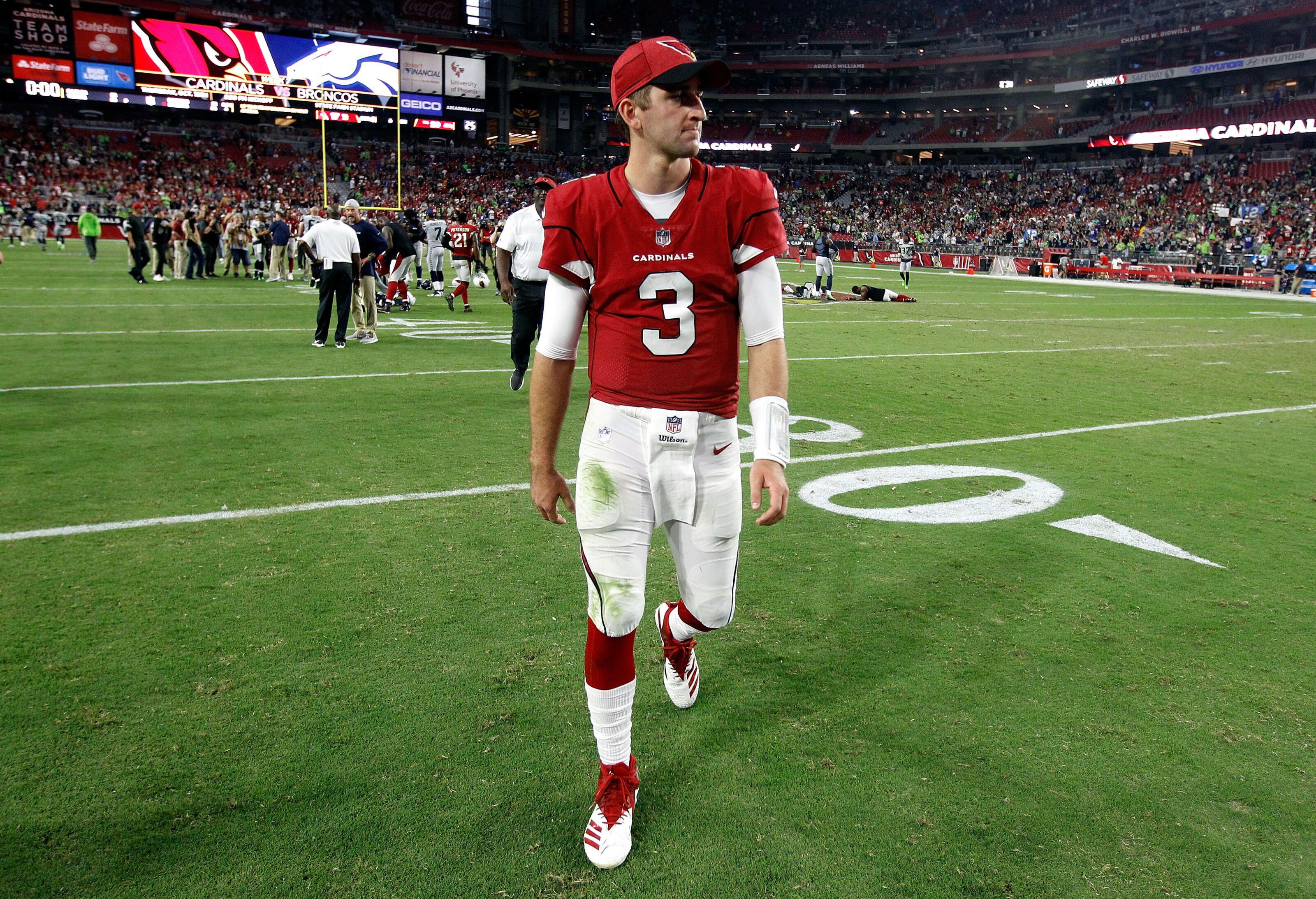 20f656d80a8 Arizona Cardinals: Meltdown dooms Josh Rosen's first start
