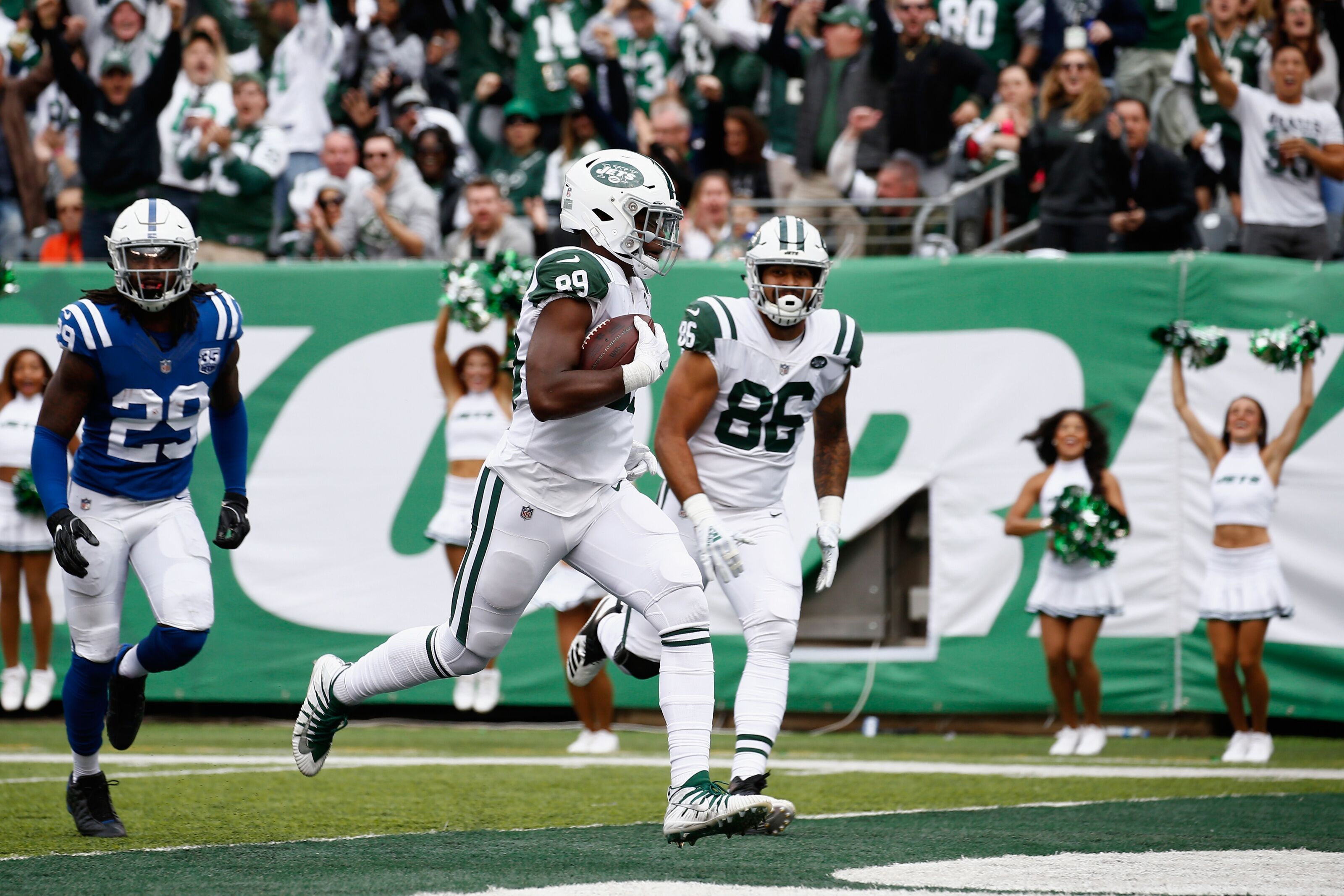 fantasy football 2018 jets tight ends top sleepers of the week. Black Bedroom Furniture Sets. Home Design Ideas
