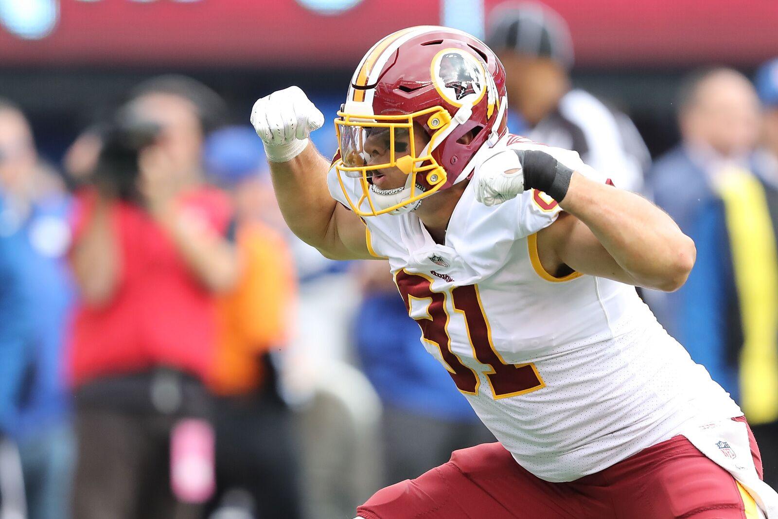 Washington Redskins: Tracking Ryan Kerrigan's path to the Hall of Fame
