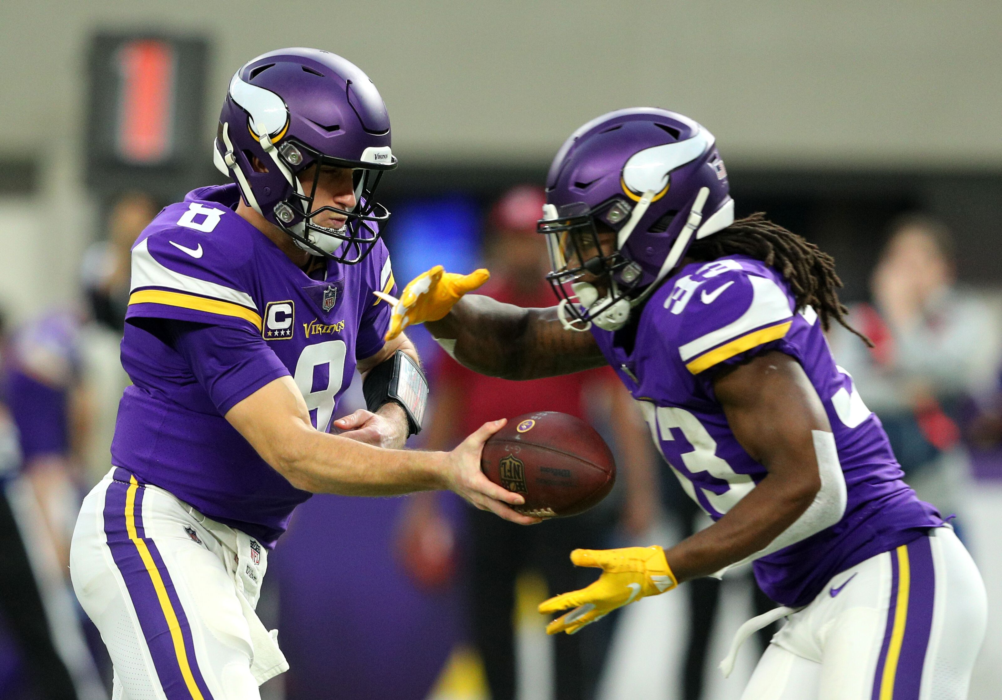 f7fcacf5 Minnesota Vikings can't blame Kirk Cousins for lack of running game