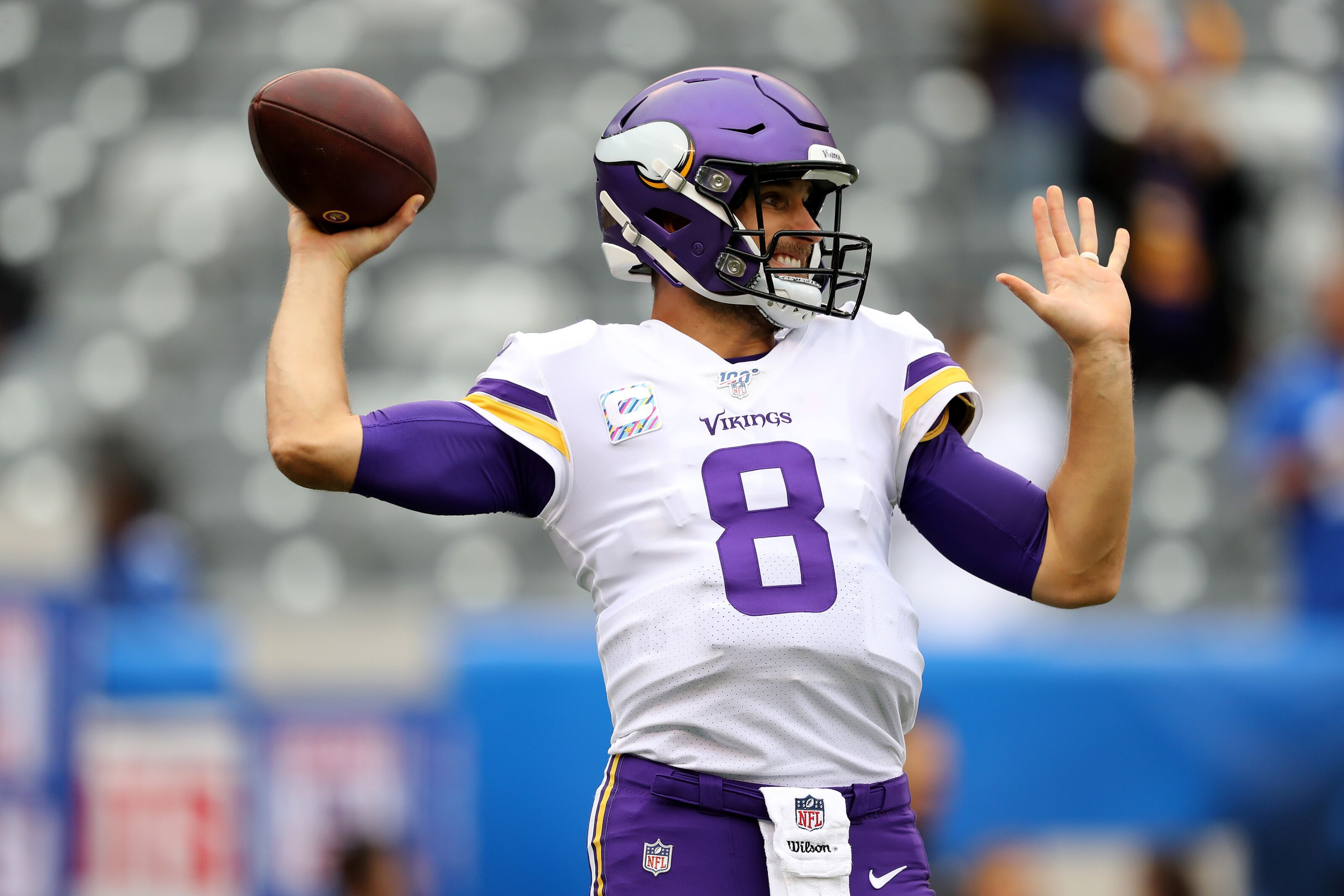 Minnesota Vikings: Could Kirk Cousins seriously win NFL MVP in 2019?