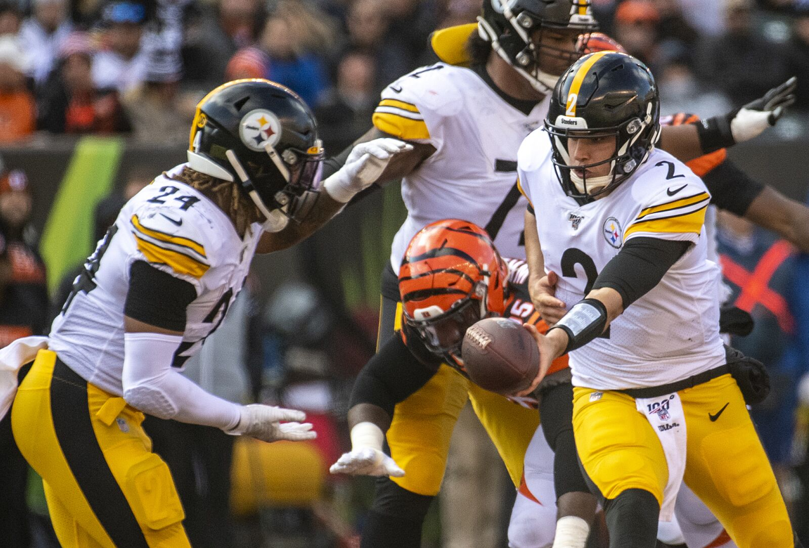 Pittsburgh Steelers Studs And Duds Vs Bengals In Week 12