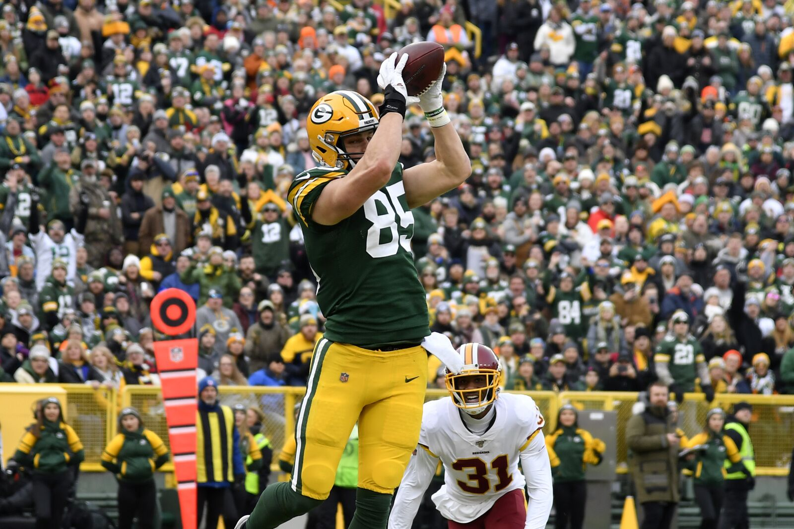 Green Bay Packers: Robert Tonyan should be more involved on offense