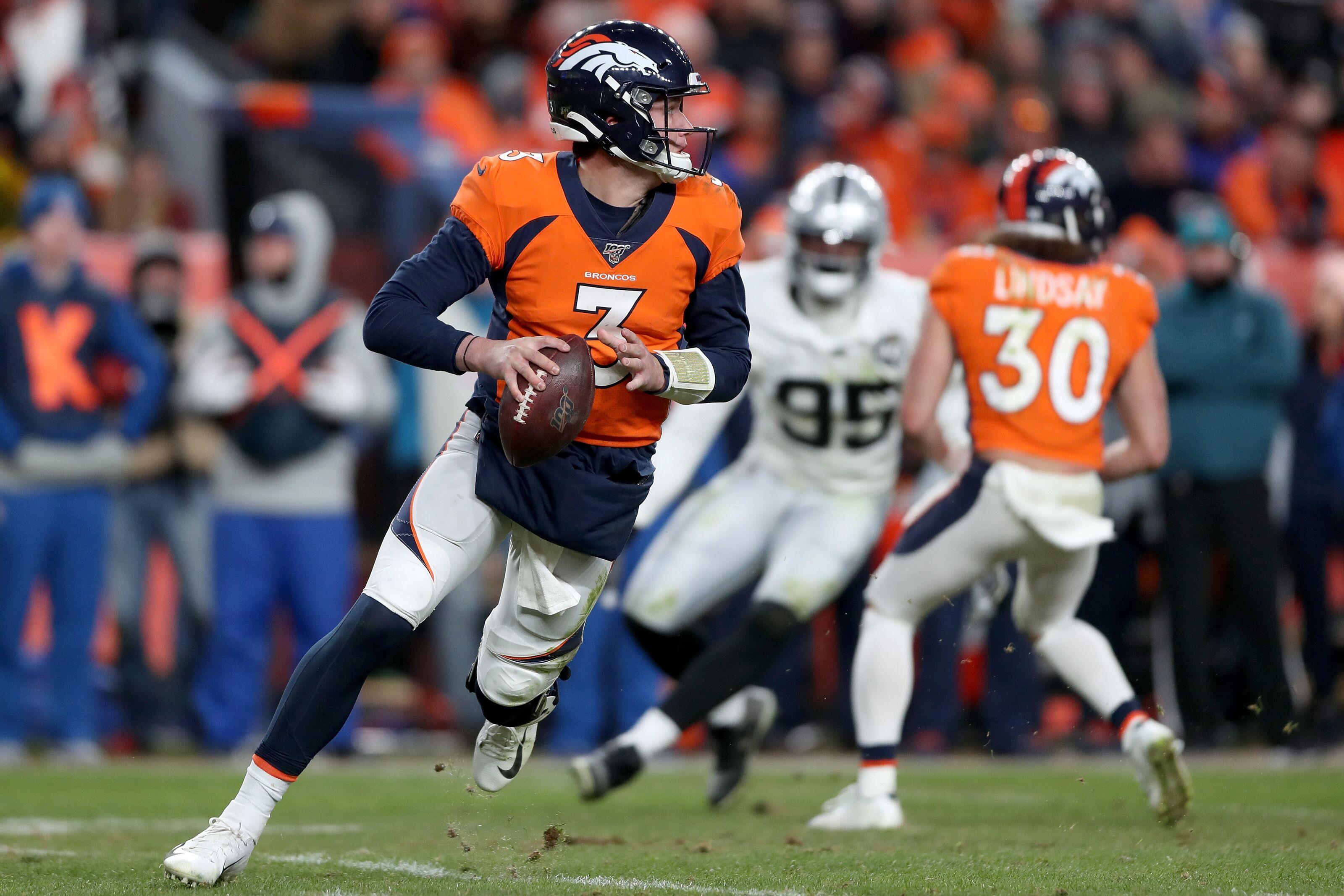 Denver Broncos build around Drew Lock in 7-round 2020 mock draft