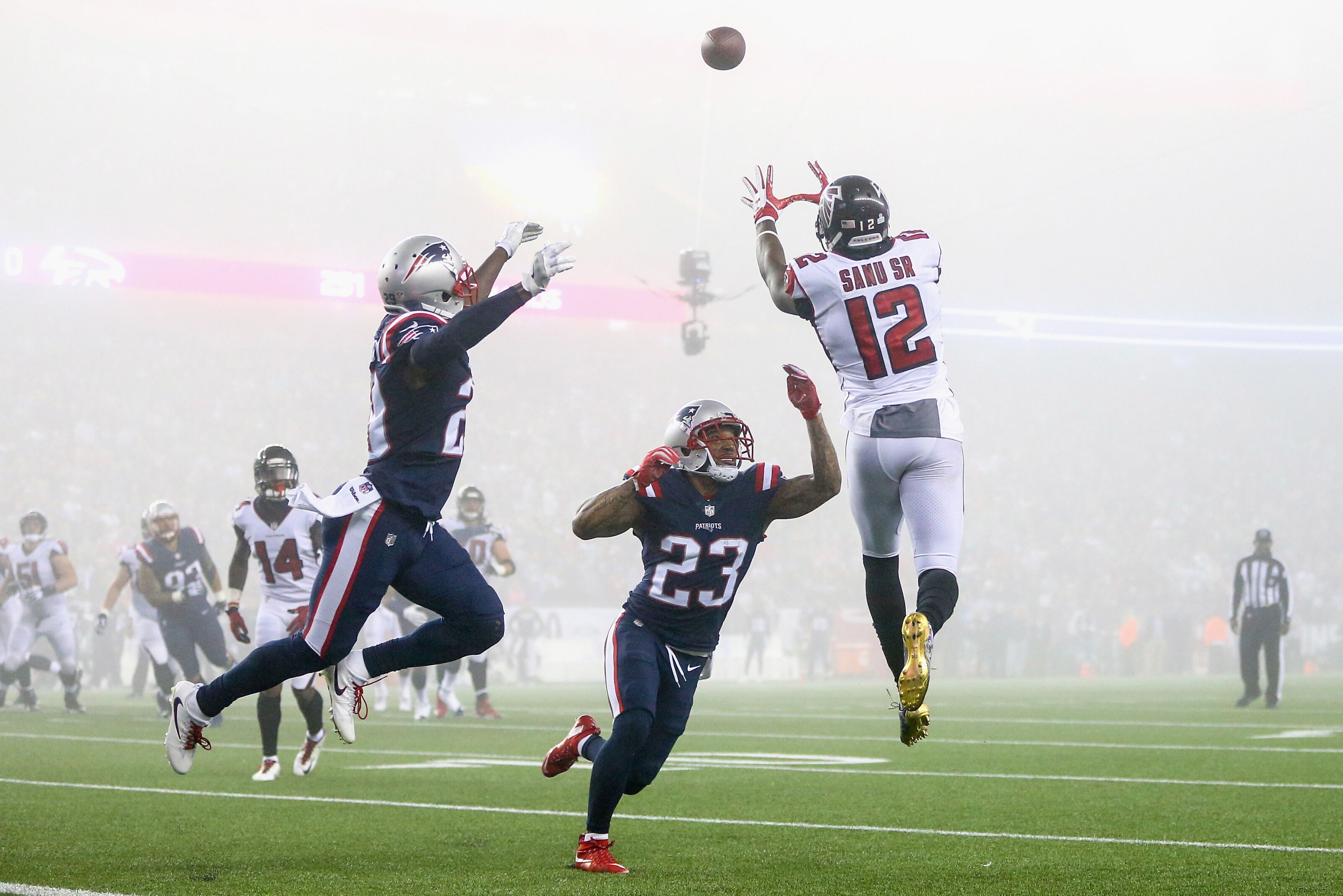 Mohamed Sanu trade: Breaking down deal for Patriots, Falcons
