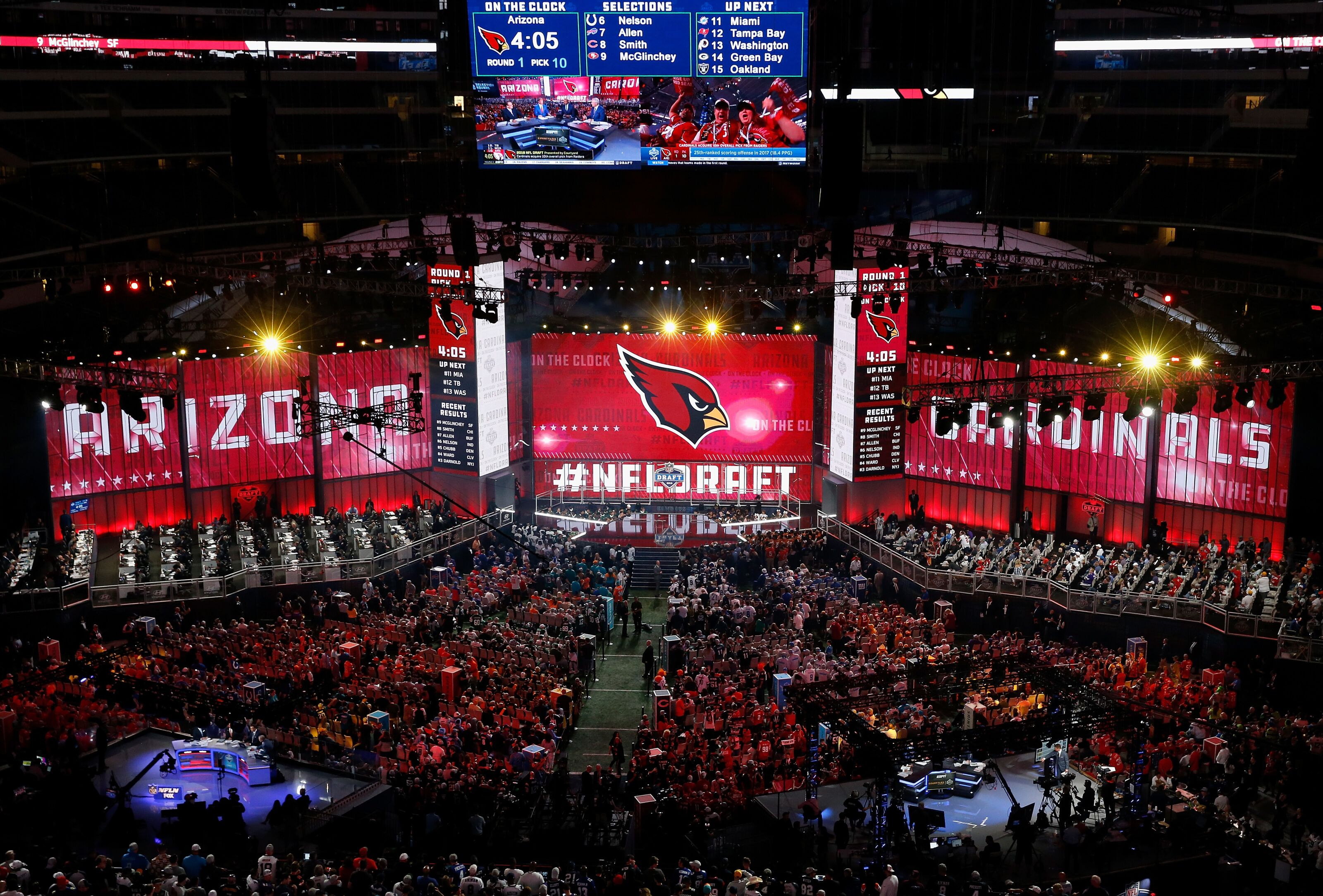 e2b19c4f99197c Arizona Cardinals: Should team trade No. 1 pick in 2019 NFL Draft?