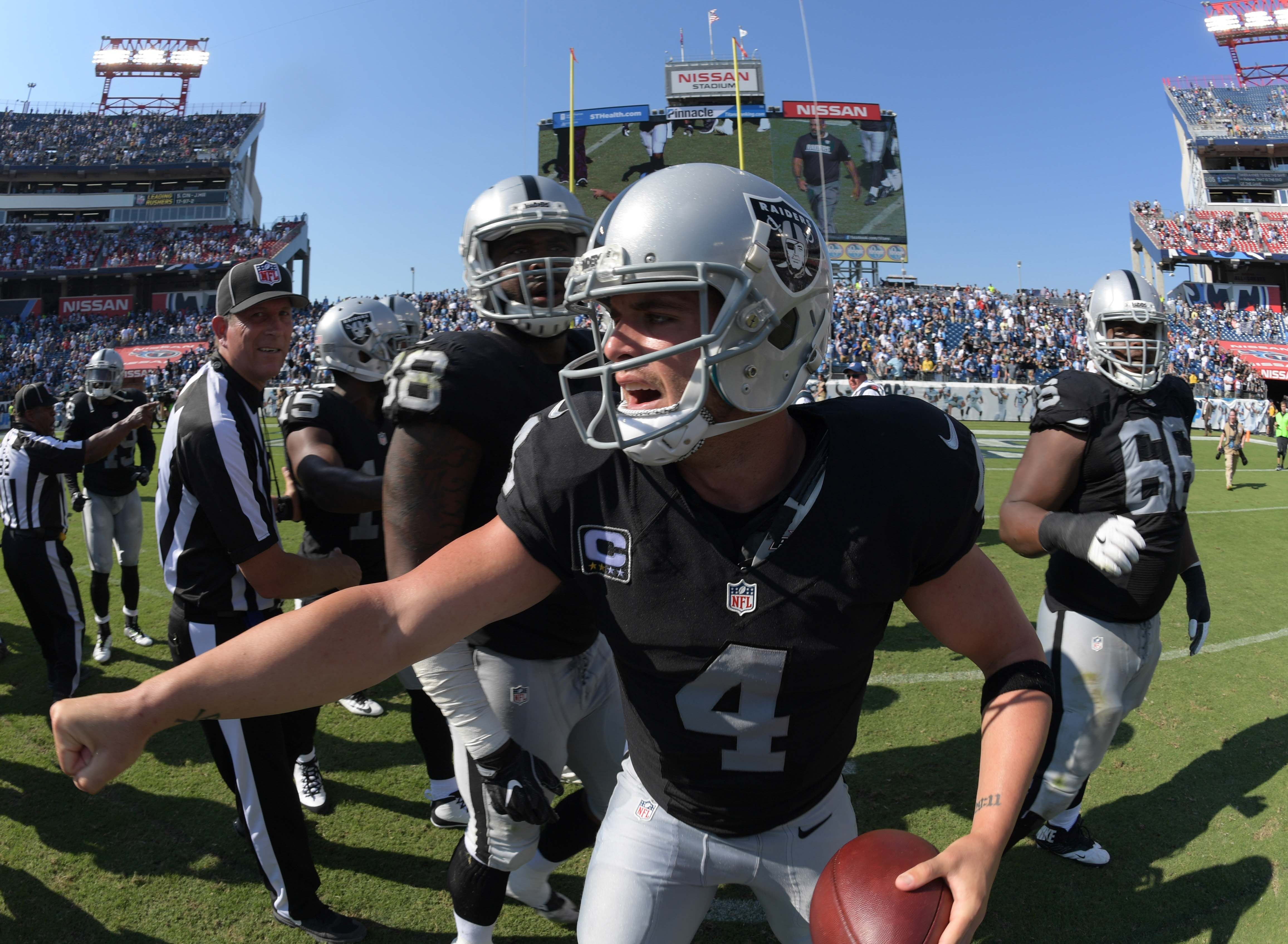 Nissan Cleveland Tn >> Oakland Raiders: Game by game 2017 record prediction post-draft - Page 2