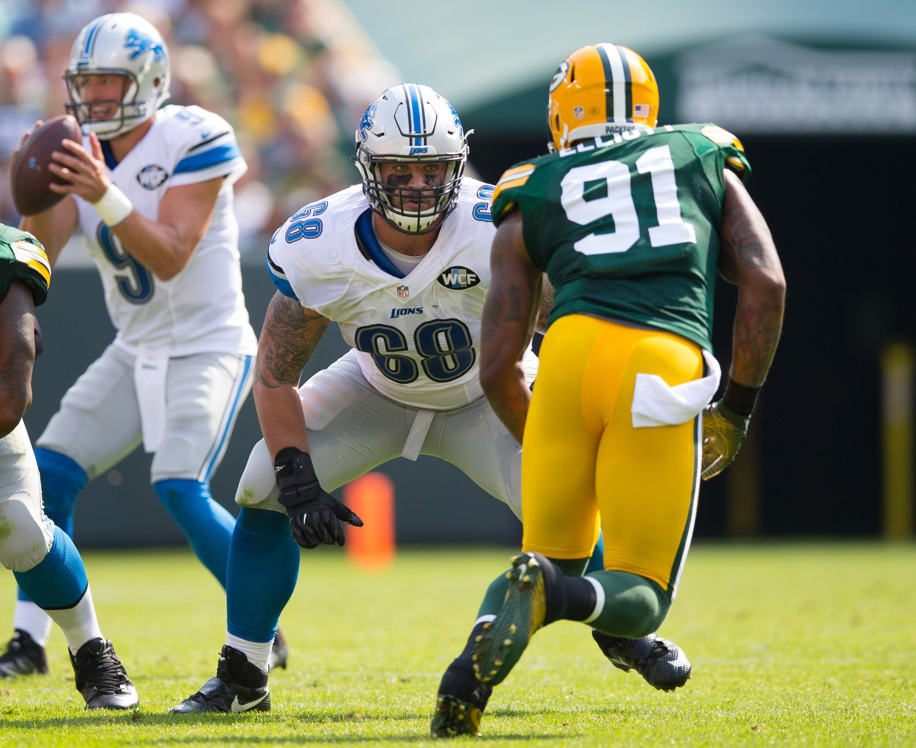 Detroit Lions Replacing Taylor Decker is no easy task
