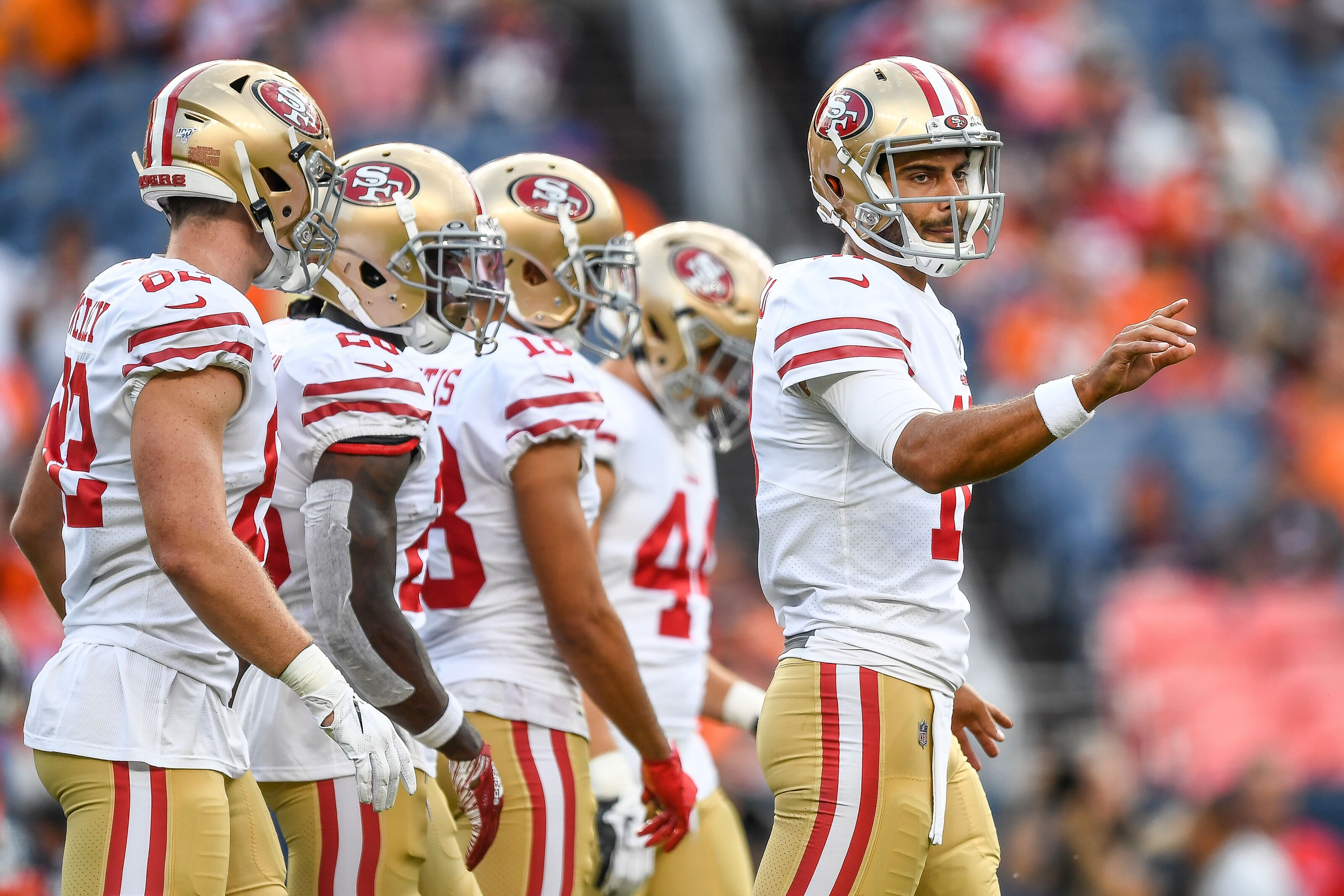 2f495222 49ers: Why Jimmy Garoppolo's Week 2 performance is not all bad news