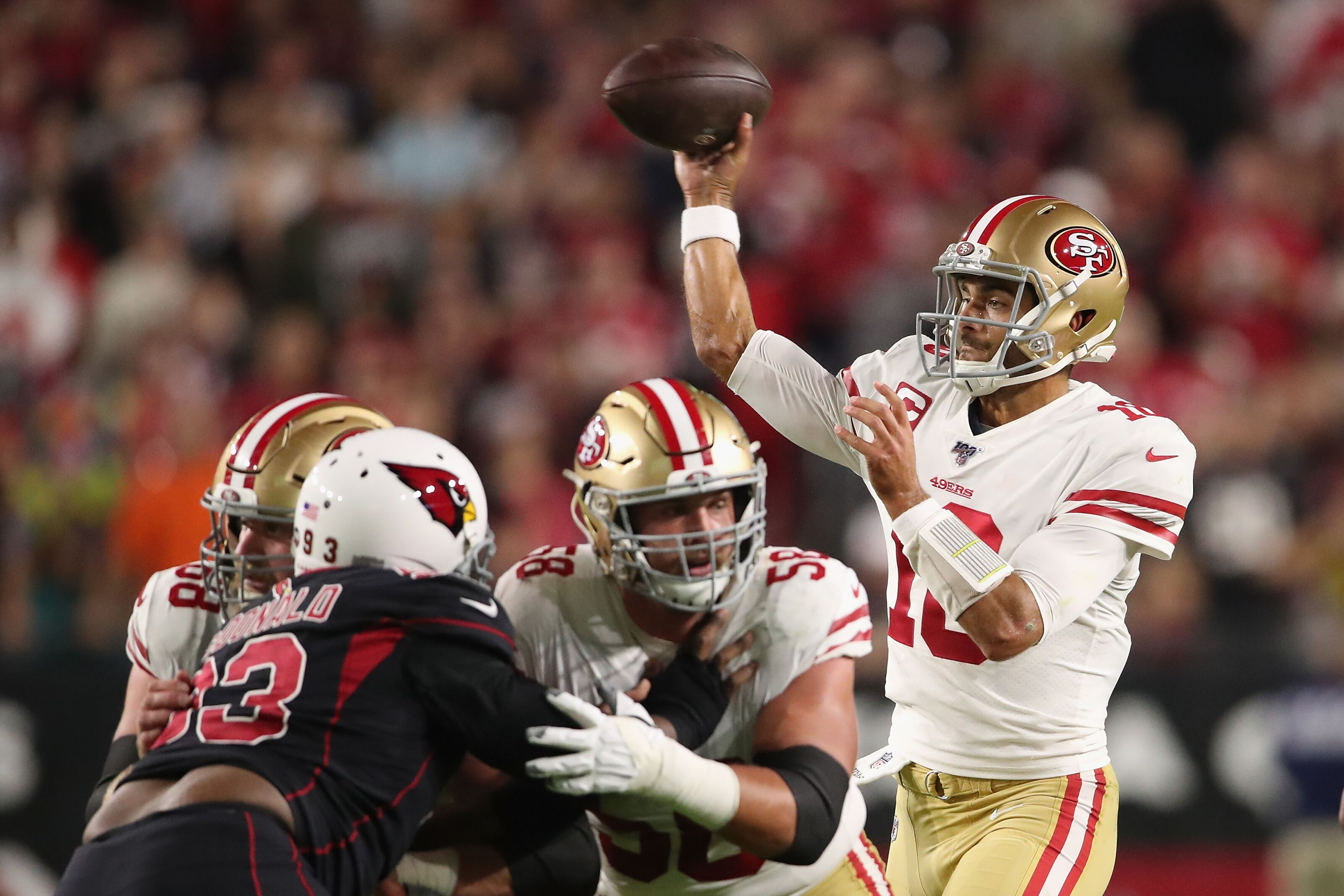 49ers vs. Cardinals: Week 11 live game thread & how to watch, stream online