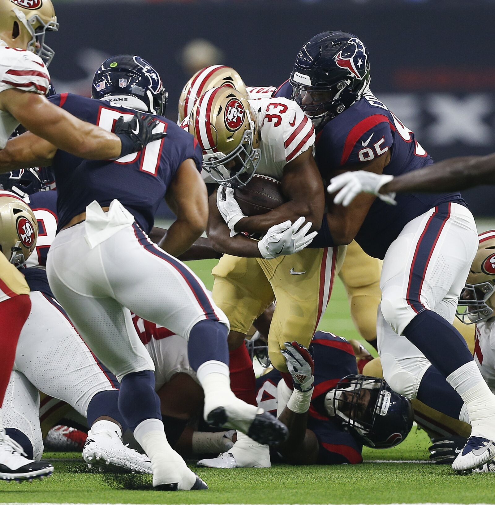 49ers: How San Francisco Wins By Losing To Texans In Preseason
