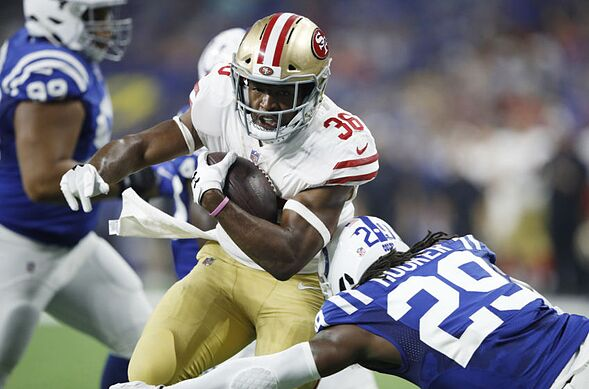 With The Meaningful Part Of 2018 Nfl Preseason Over Niner Noise Predicts How San Francisco 49ers Running Back Depth Chart Pans Out This Regular