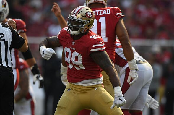 who do the 49ers play this week