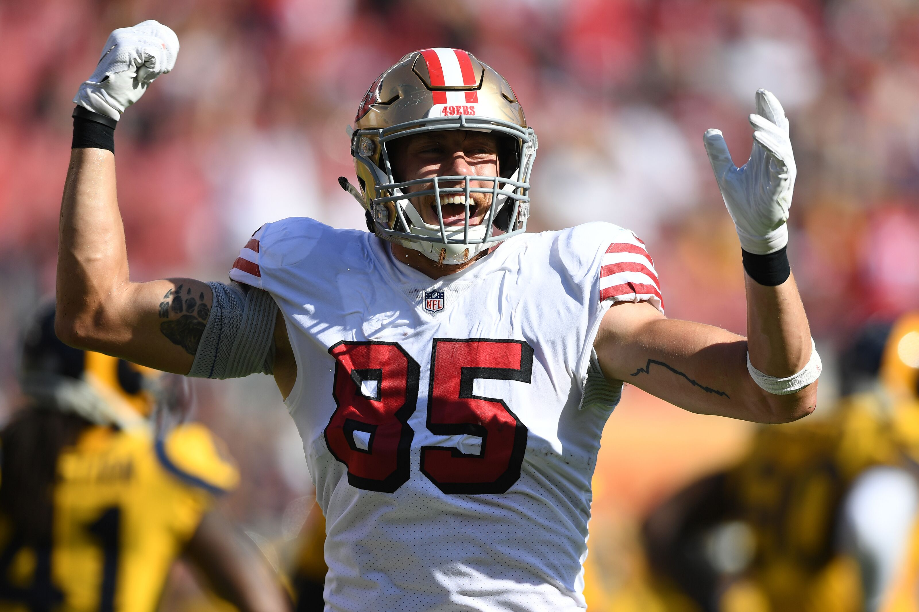 ee6260eb1 49ers  George Kittle named Pro Football Focus  13th best player in 2018