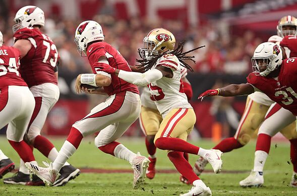 c0213075818 49ers vs. Cardinals  Finding the positives and negatives from Week 8