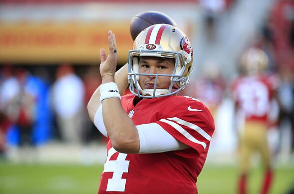c9c092f00 49ers  3 Giants players Nick Mullens needs to target in Week 10