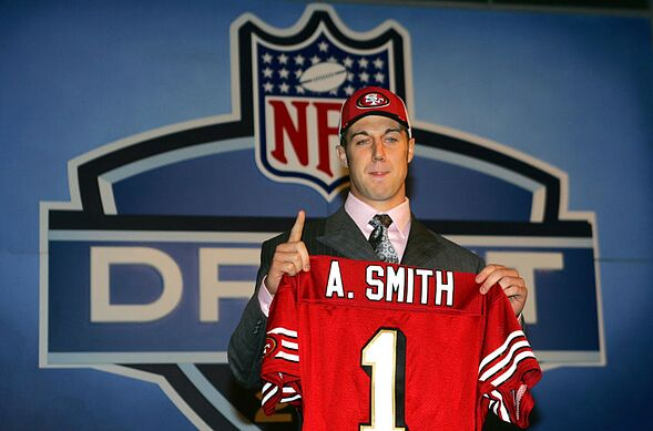 info for 2ee80 0bc75 Alex Smith: Timeline of former 49ers QB's highs, lows and ...