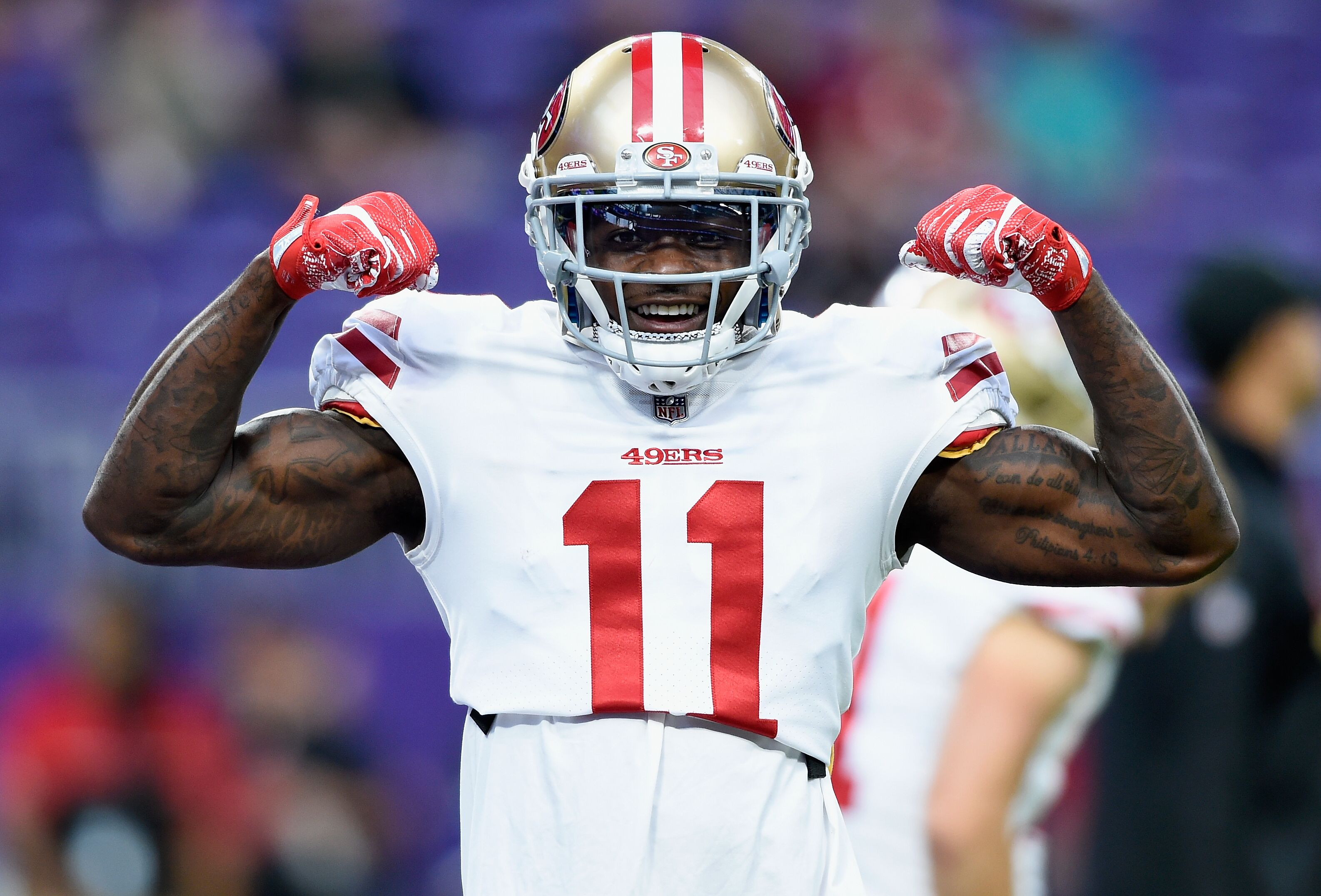 best website 3abe2 ae178 49ers: Why Marquise Goodwin will have a breakout year in 2018
