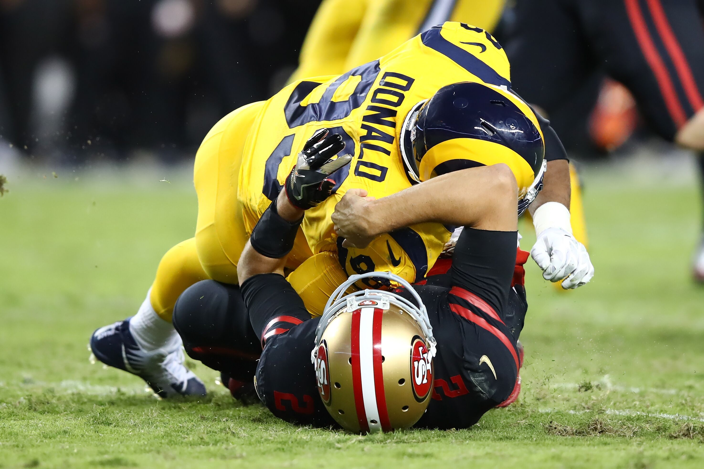 timeless design a09b3 9a215 49ers lose big to Rams in Niner Noise's Week 7 NFL game ...