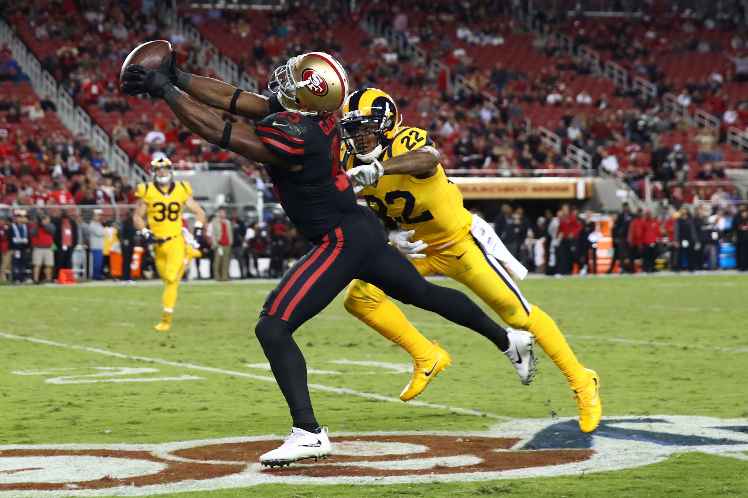 da8350d8f 49ers wide receiver Pierre Garçon out for the season with neck injury