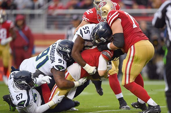 who is quarterback for 49ers week 12
