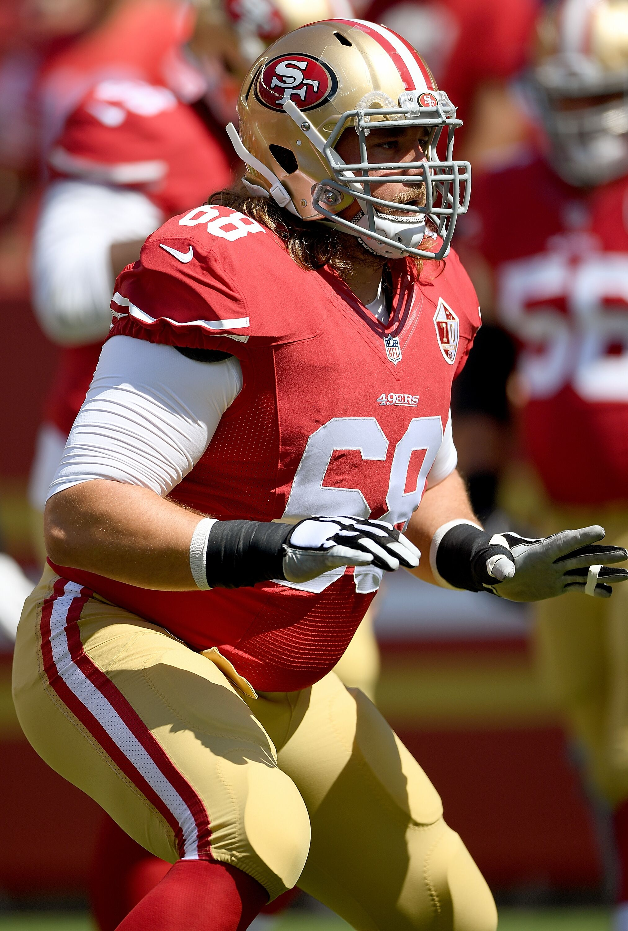78da7b7cf 49ers  How the offensive line shapes up after Zane Beadles release
