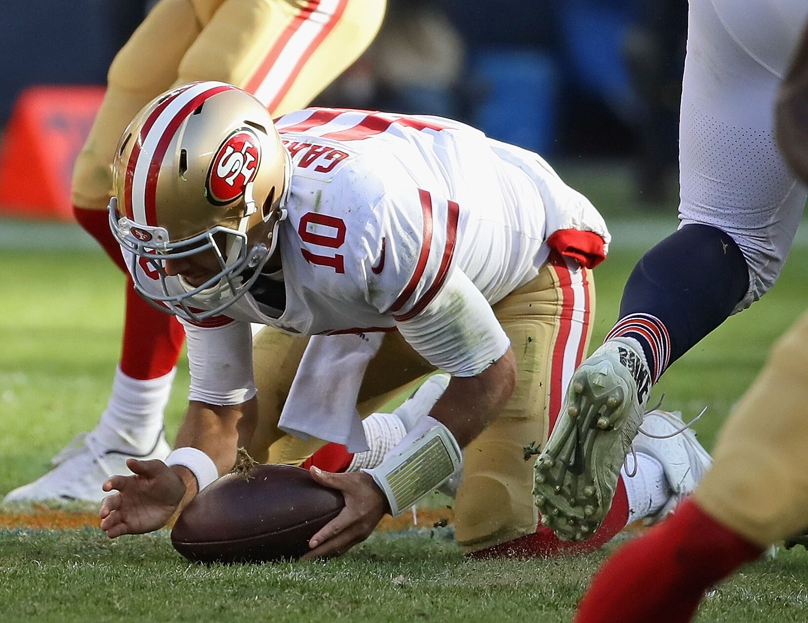 e0c78b2b33f Jimmy Garoppolo  The one thing the 49ers quarterback has to improve on