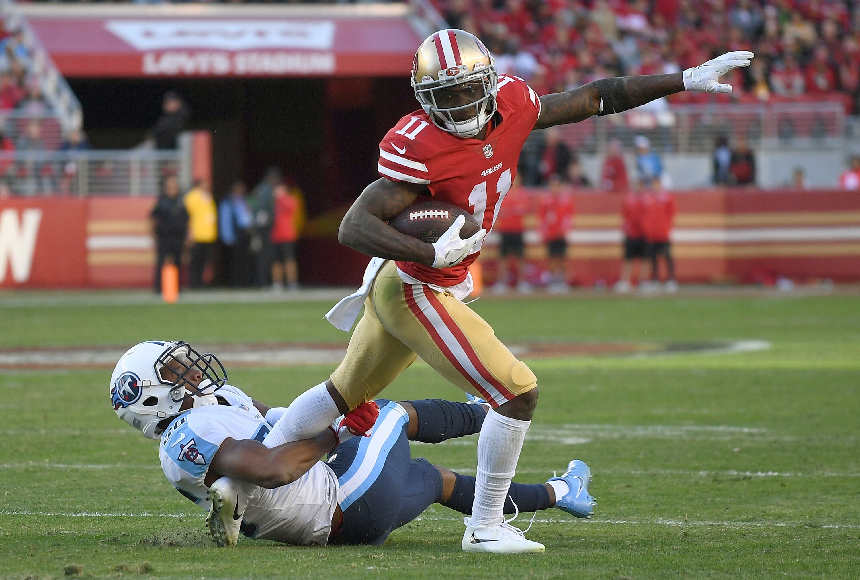 66b35ee1acd Fantasy football  Should you draft 49ers receivers