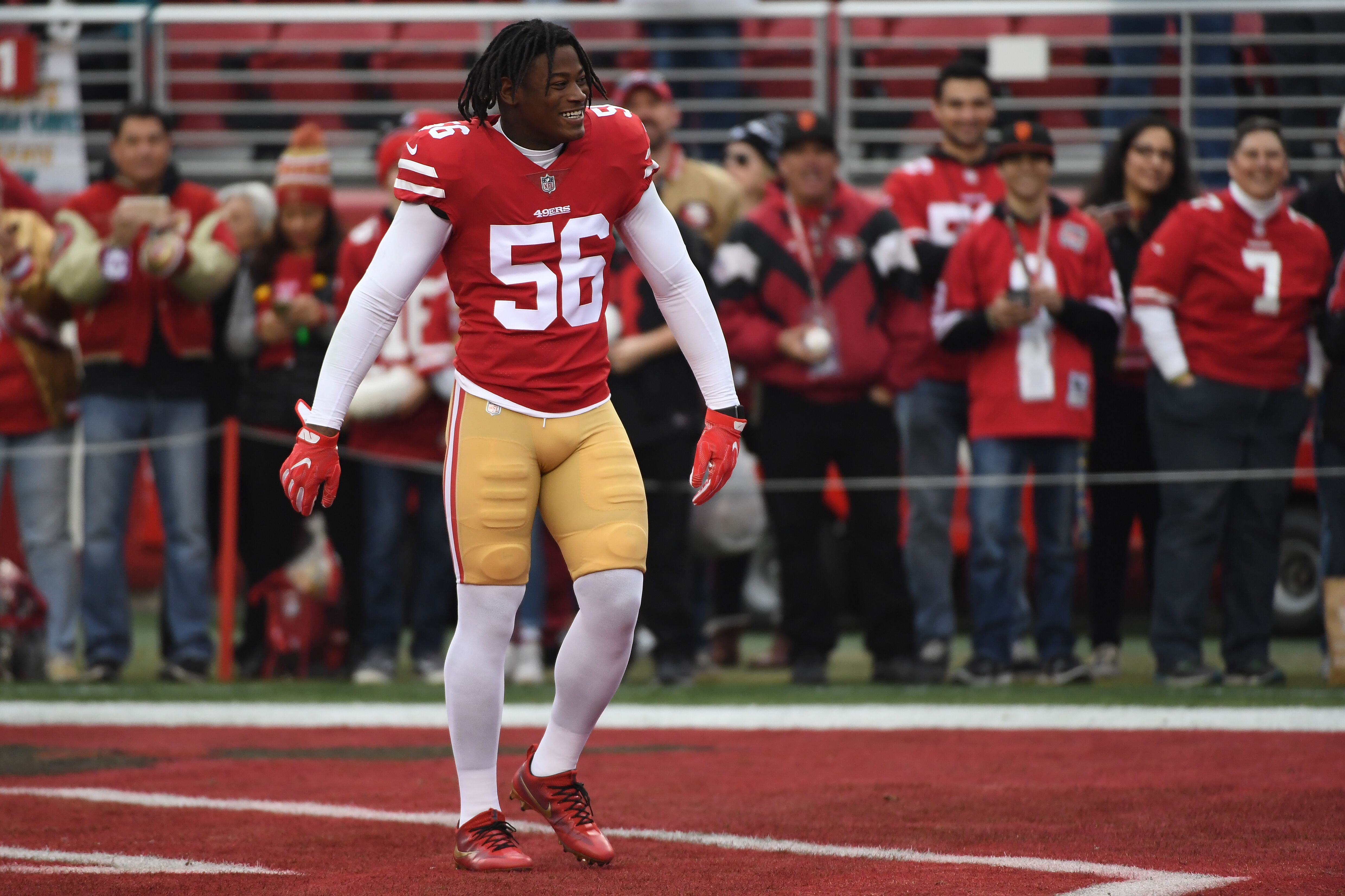 5b35bf881 49ers  How to get by without Reuben Foster in Weeks 1 and 2
