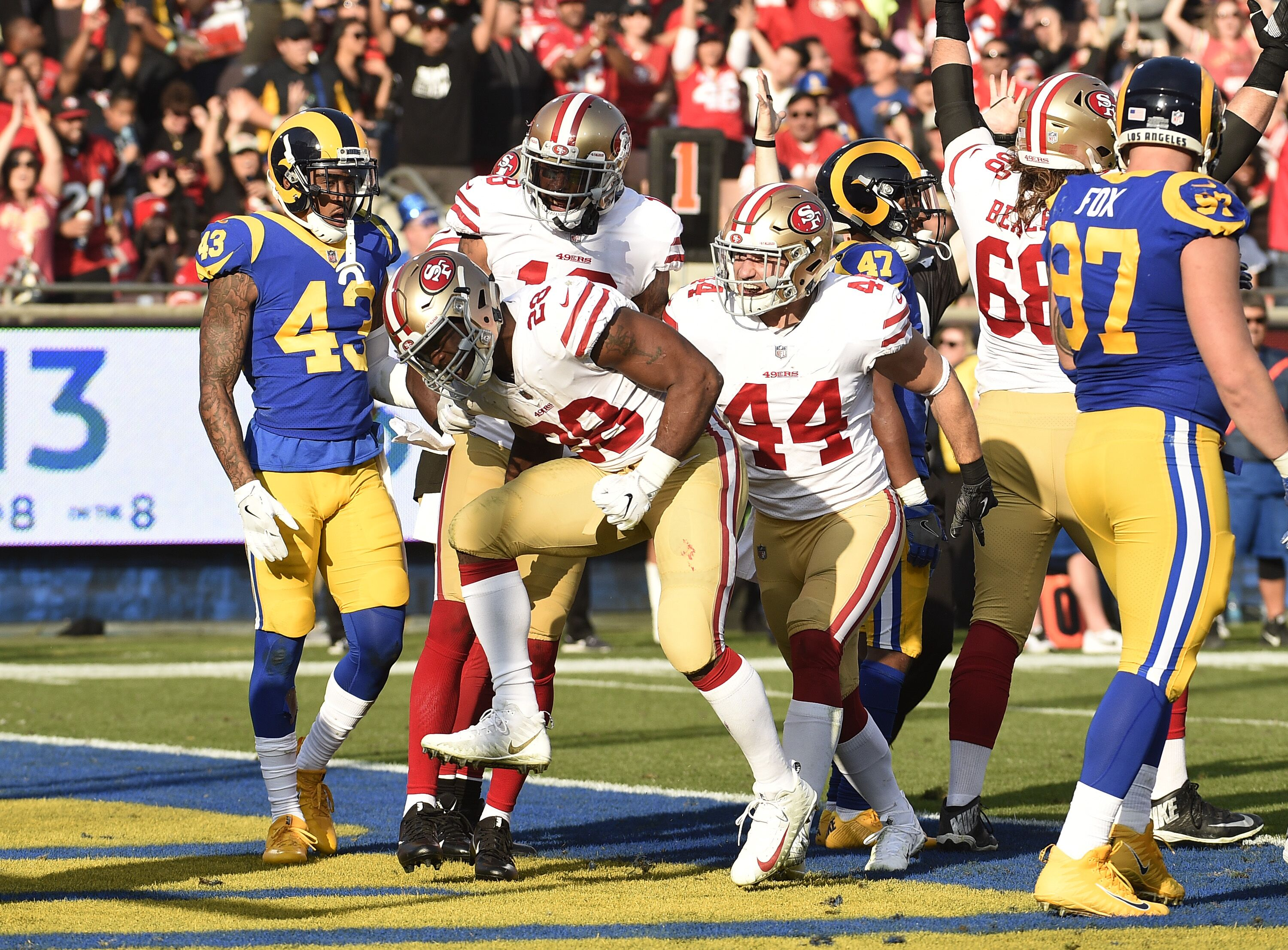 newest collection e4005 67b55 49ers  Ranking San Francisco s toughest 5 games of 2018 - Page 4