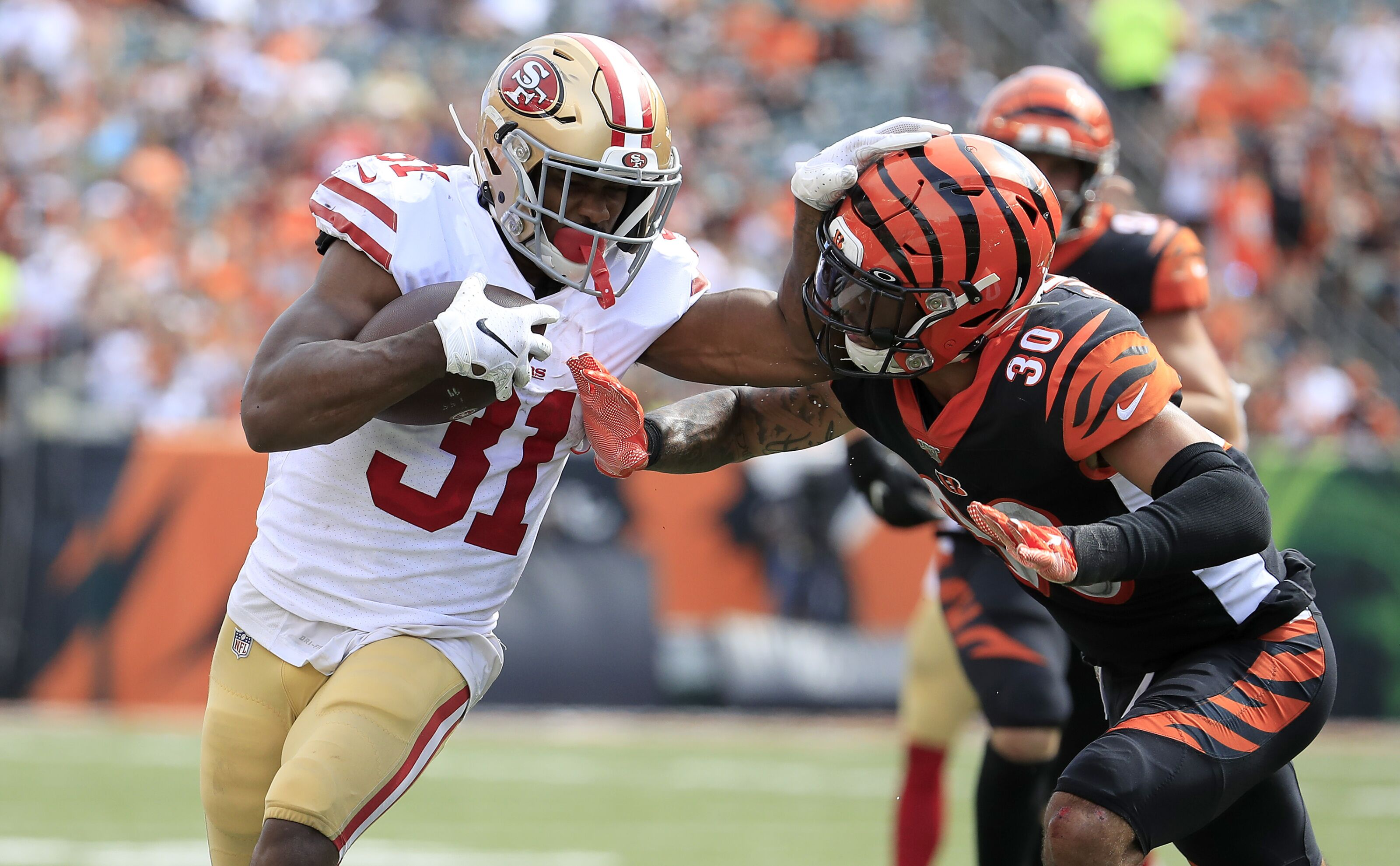 San Francisco 49ers: The rise of Raheem Mostert