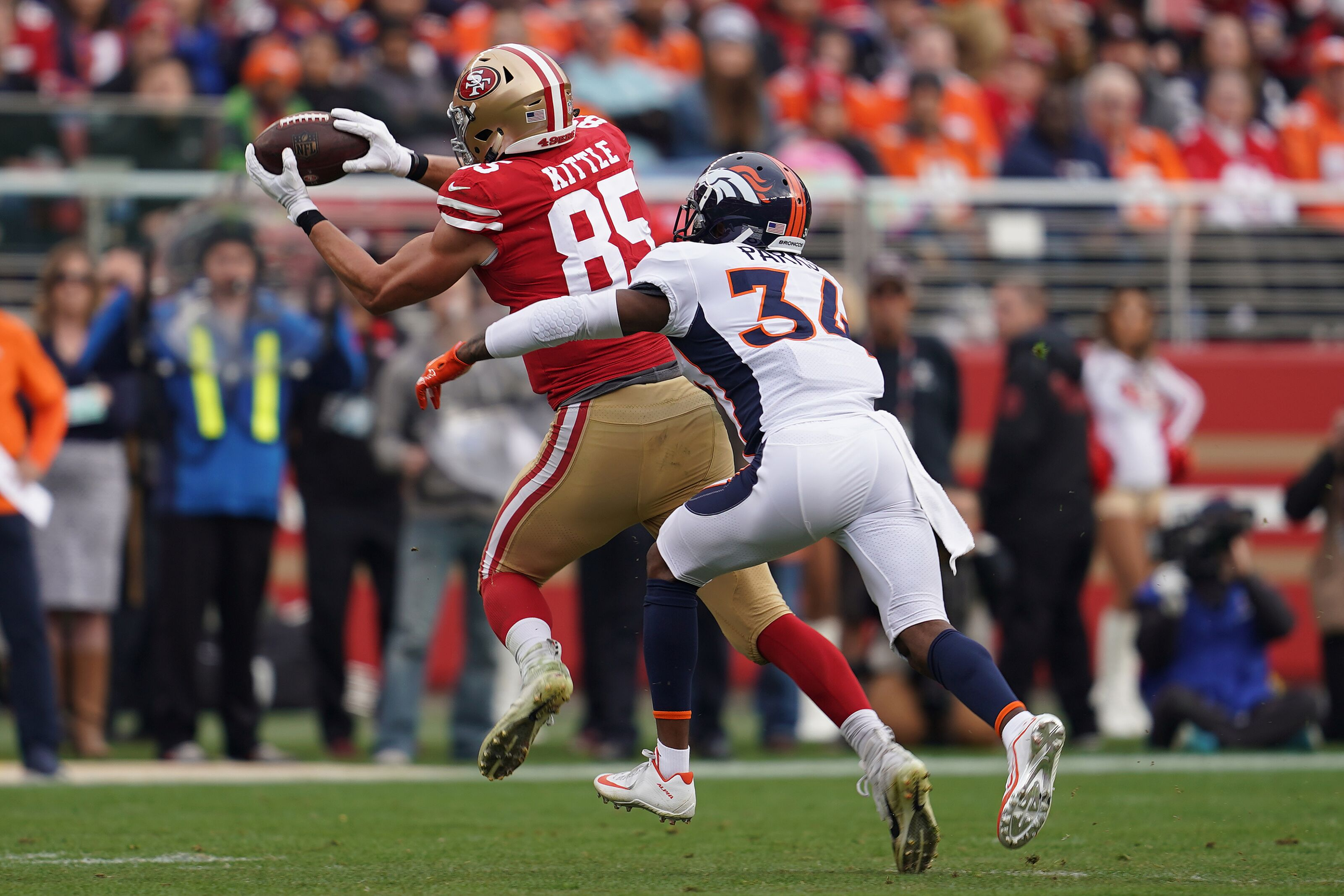 49ers Vs Broncos Position Grades From San Francisco S Week 14 Victory