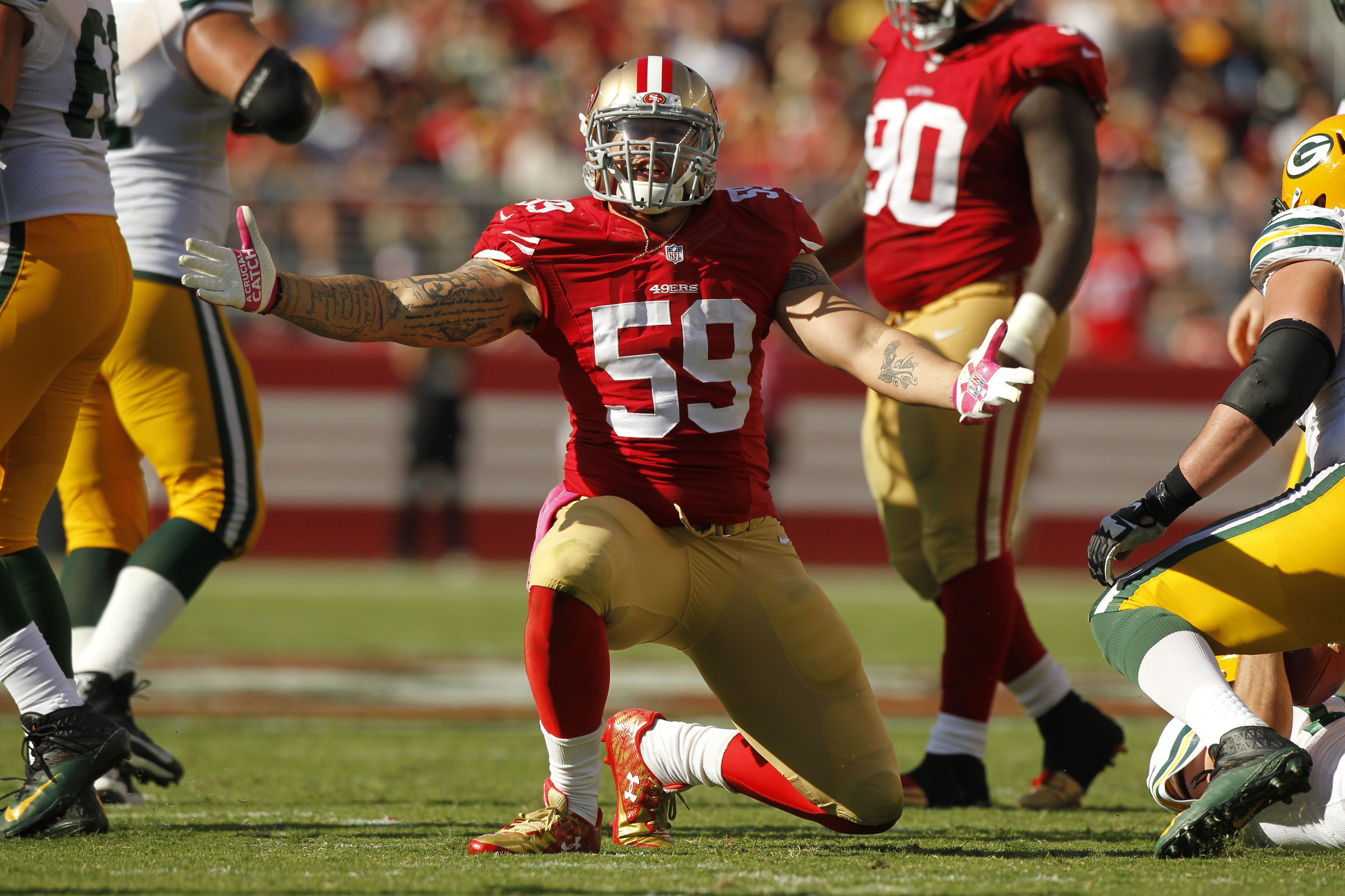 49ers 10 Players Who Won T Be On San Francisco S Roster