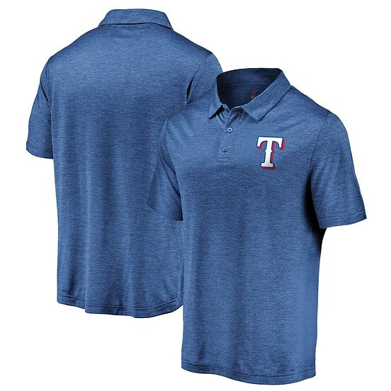 7438d3f6 Texas Rangers Majestic Targeting Success Cool Base Polo: $44.99