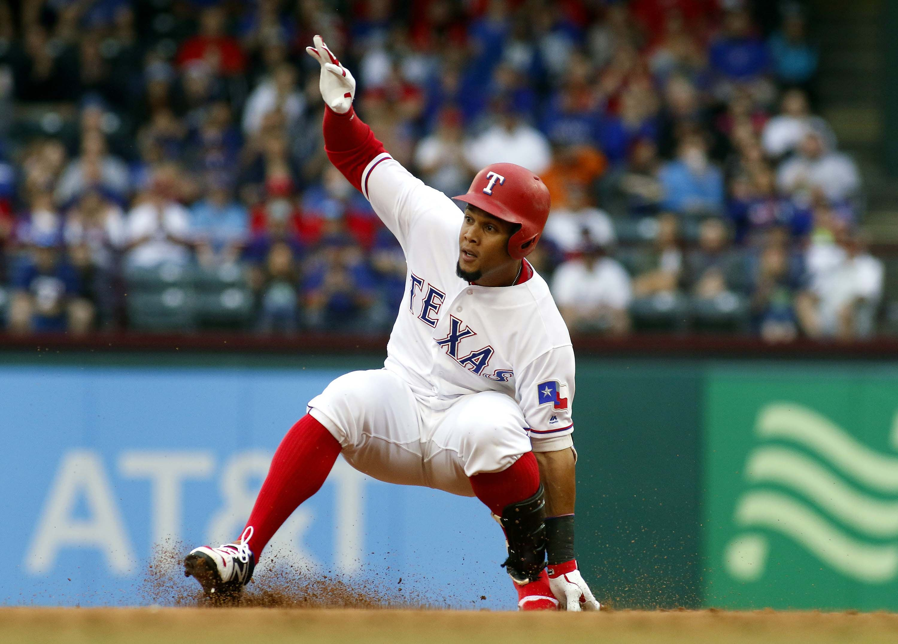 Texas Rangers: Carlos Gomez Perfect In Win Against Angels