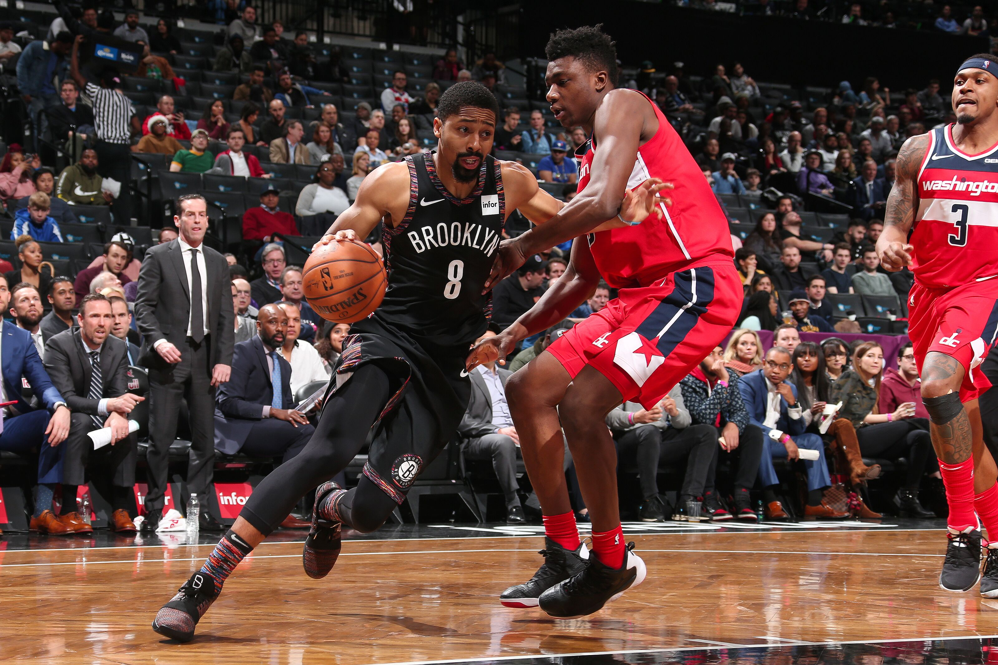 Brooklyn Nets  Spencer Dinwiddie closes out big day with another big night 215ebab2d