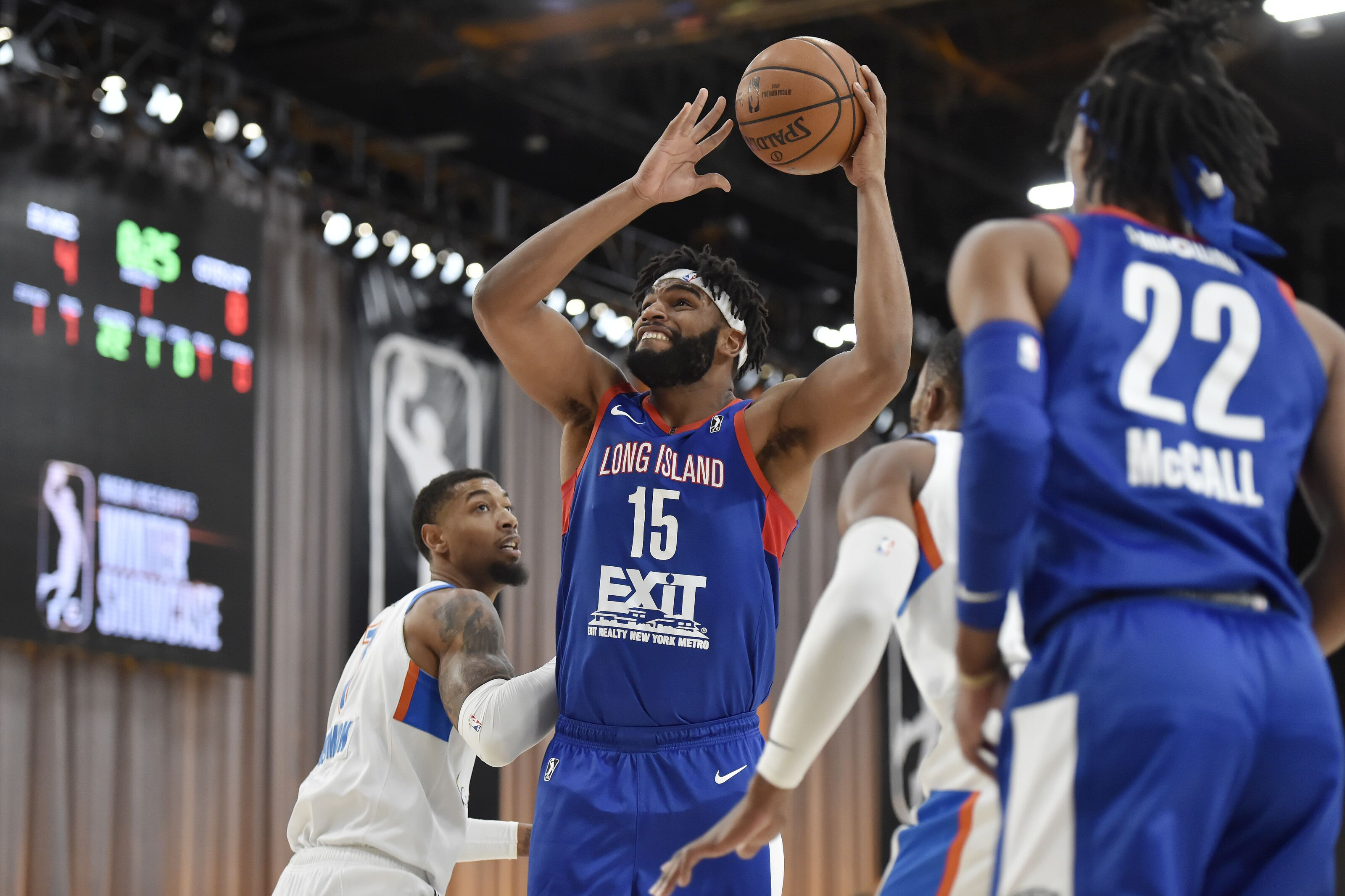 165ac225fb4 Long Island Nets never recover from slow start in loss to Raptors 905