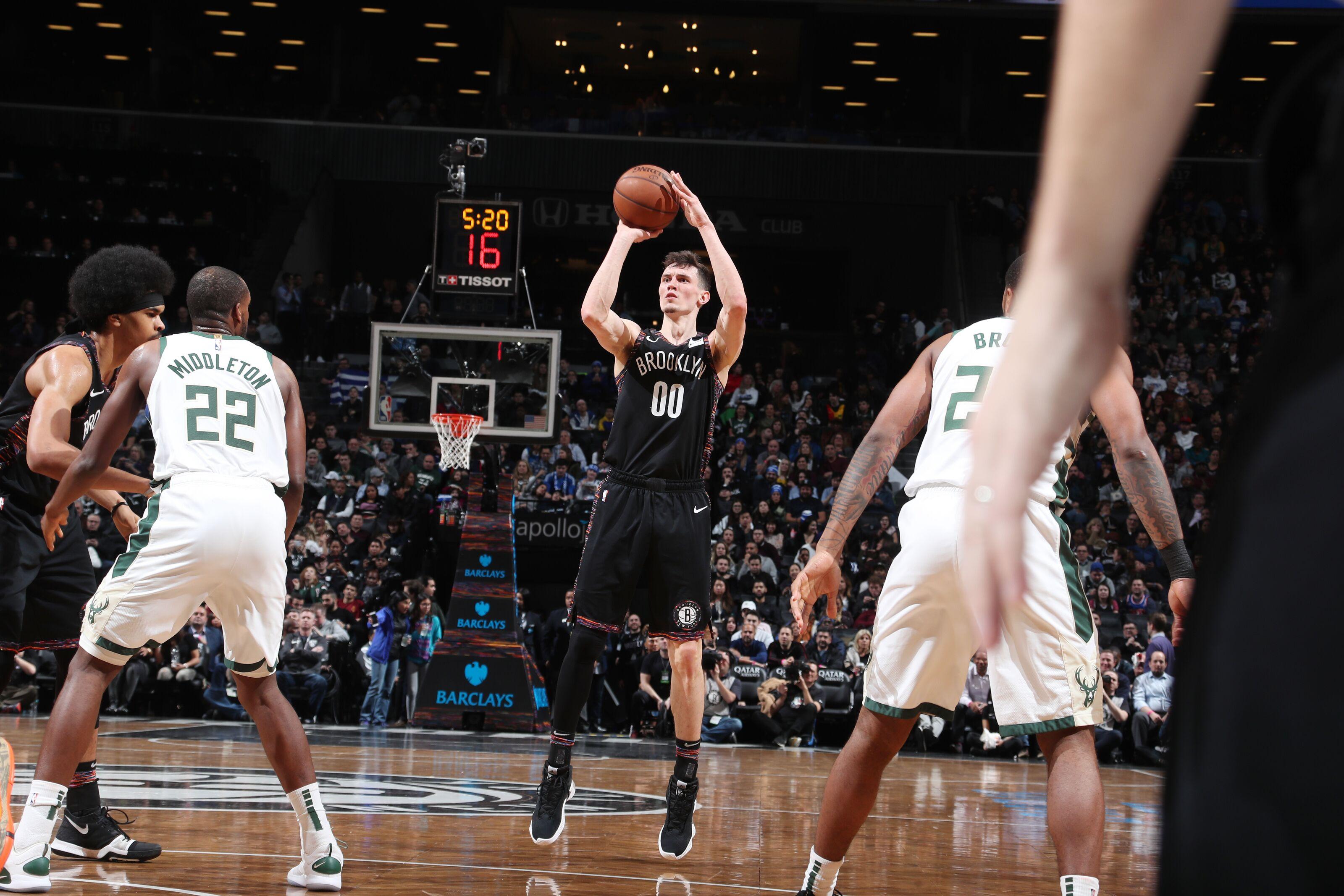 Brooklyn Nets: Rodions Kurucs could be a short-term fix at 4