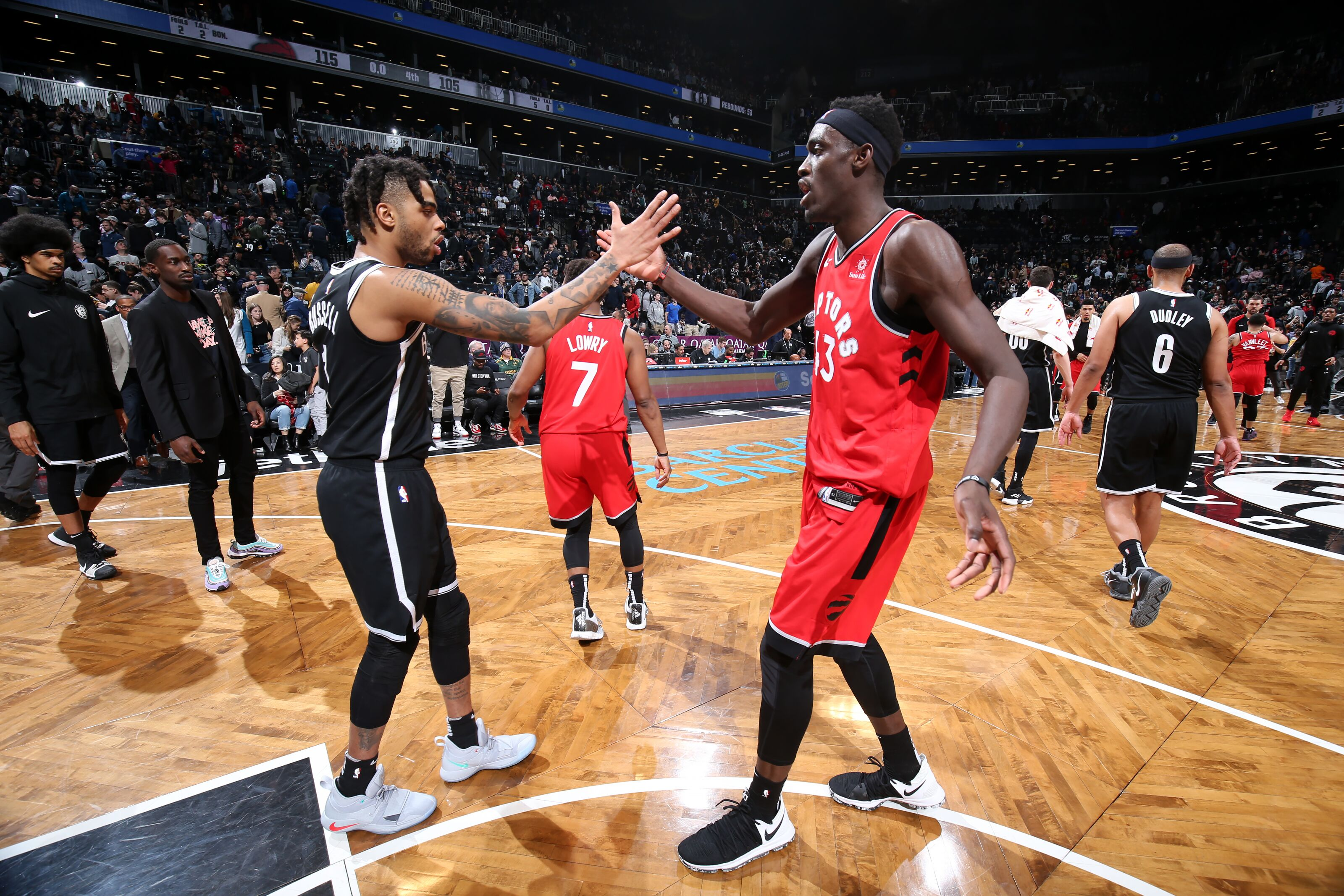 Brooklyn Nets: Pascal Siakam right choice over D'Angelo Russell for MIP