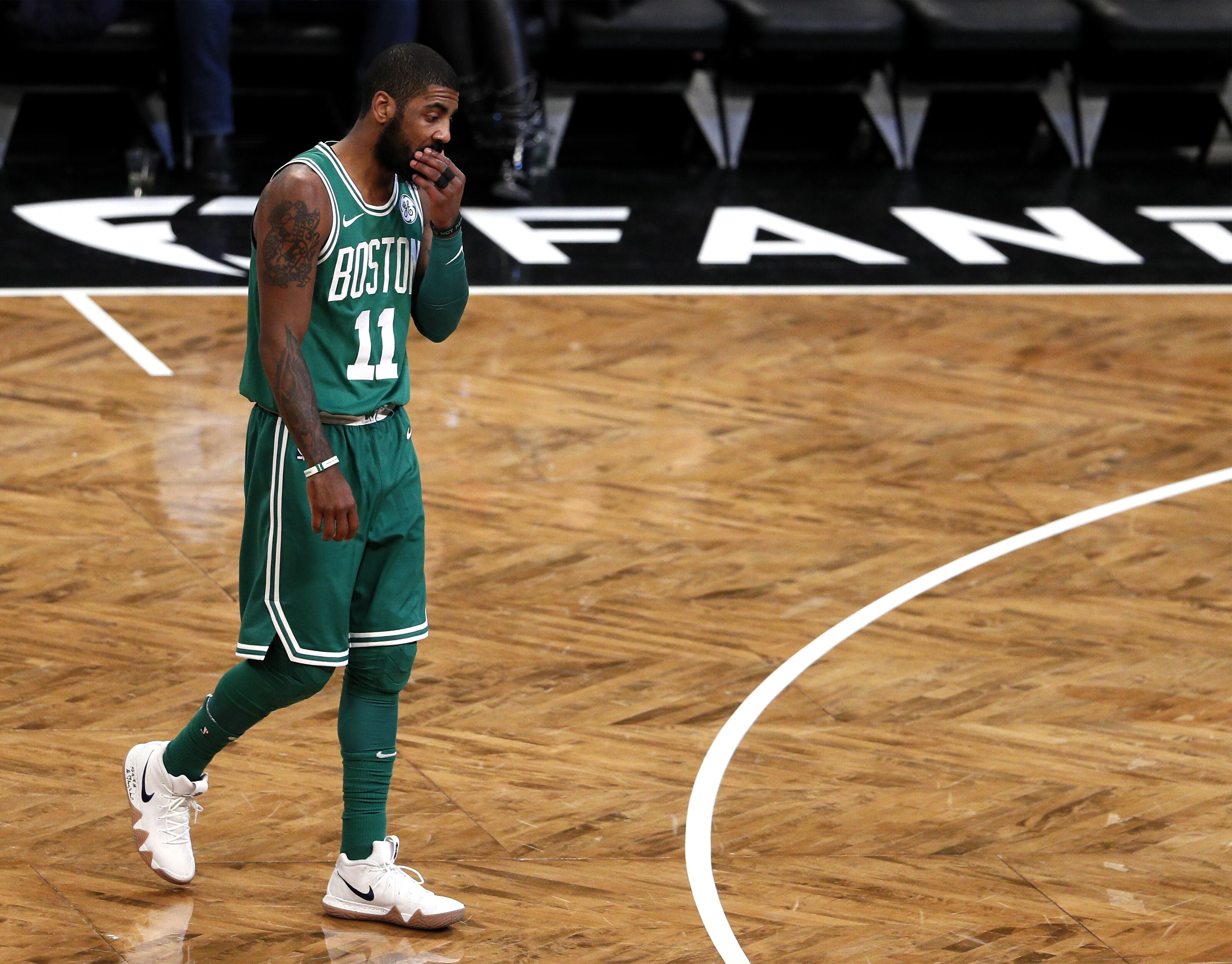Brooklyn Nets Was Kyrie Irving S Ranking In The Nba Top 100