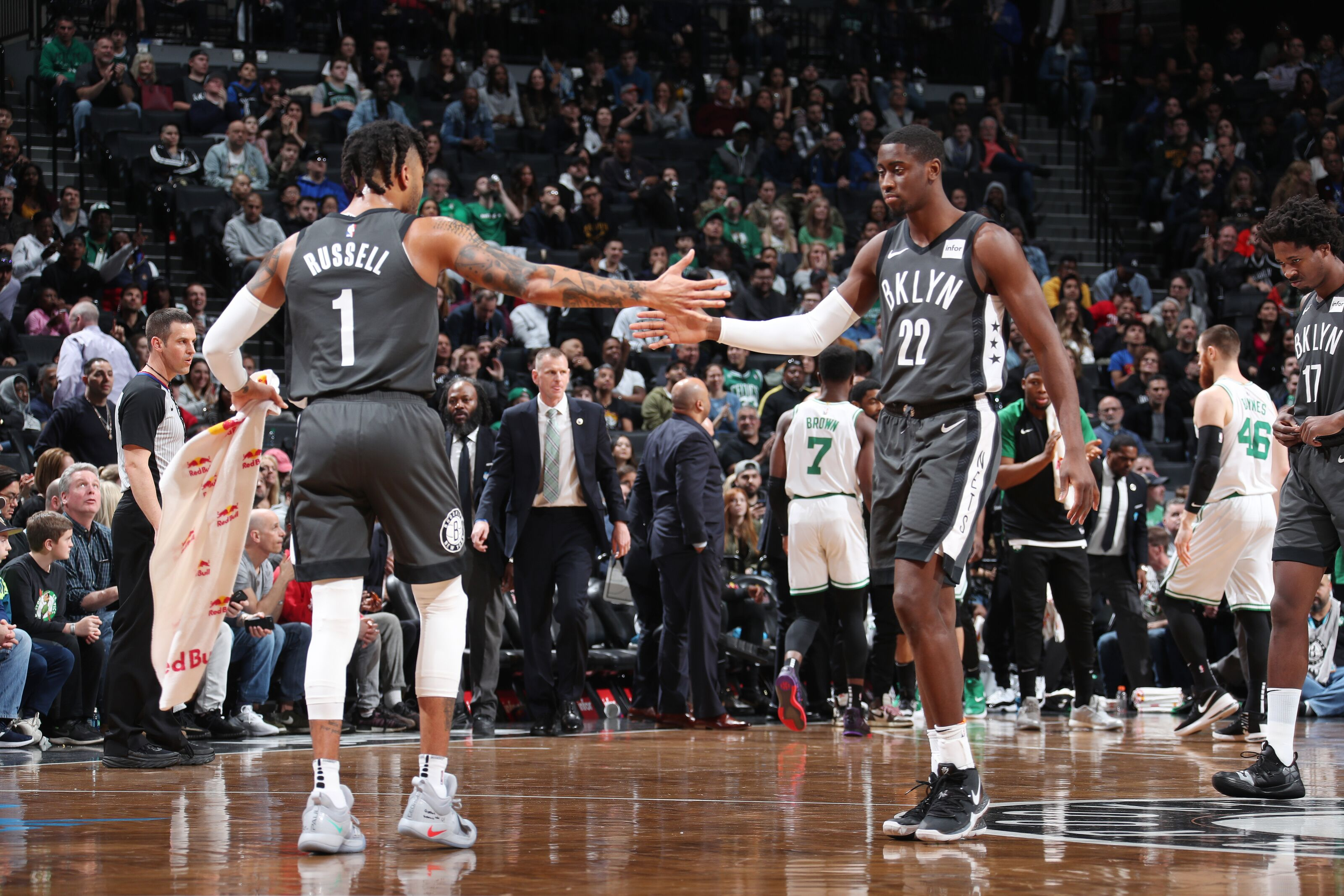 320fb35f7 Brooklyn Nets  Ball-handlers must deliver in final stretch