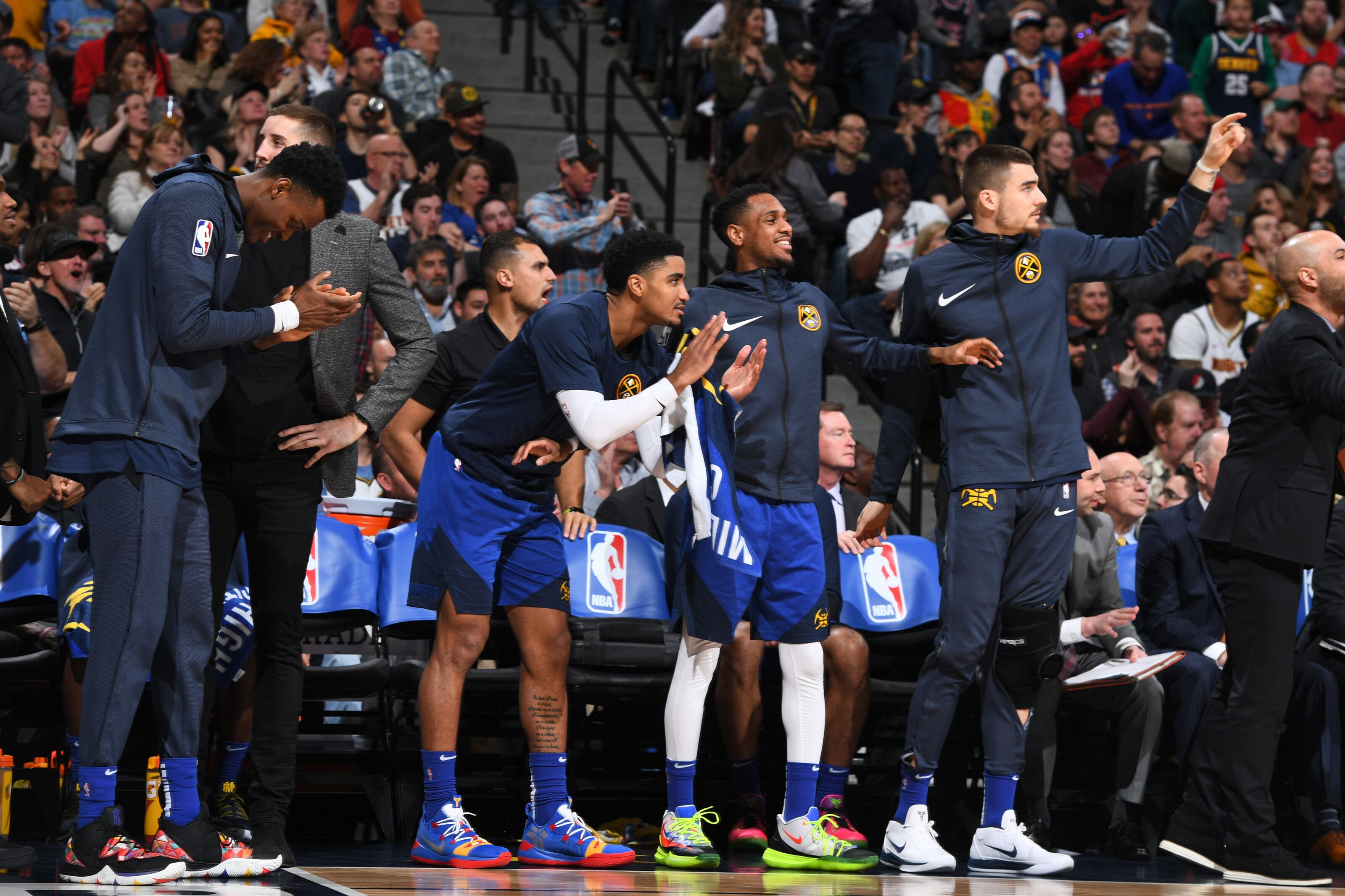 Denver Nuggets: The Nuggets would have never been swept in the WCF.
