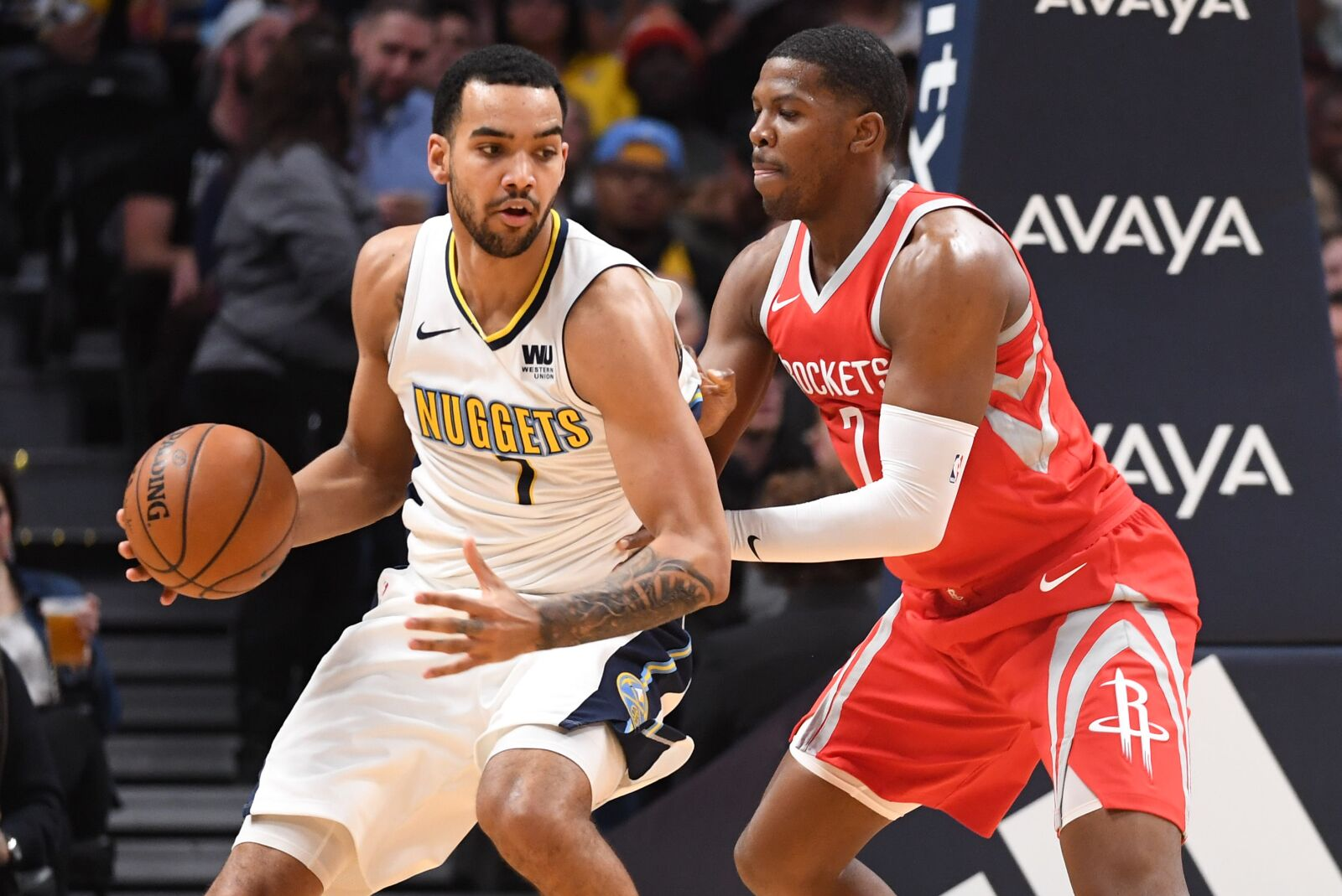 5e9377370e4 Denver Nuggets vs. Rockets: What to watch for at Denver