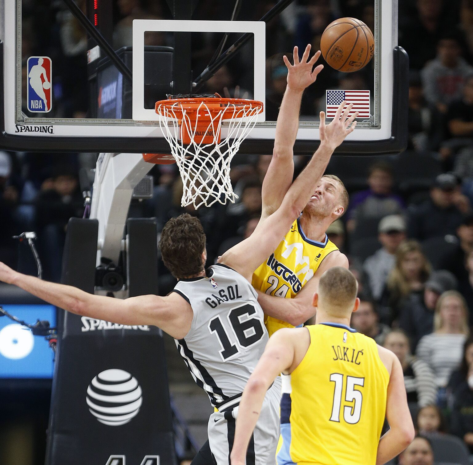 The Nuggets Were Dominated By The Spurs On The Road