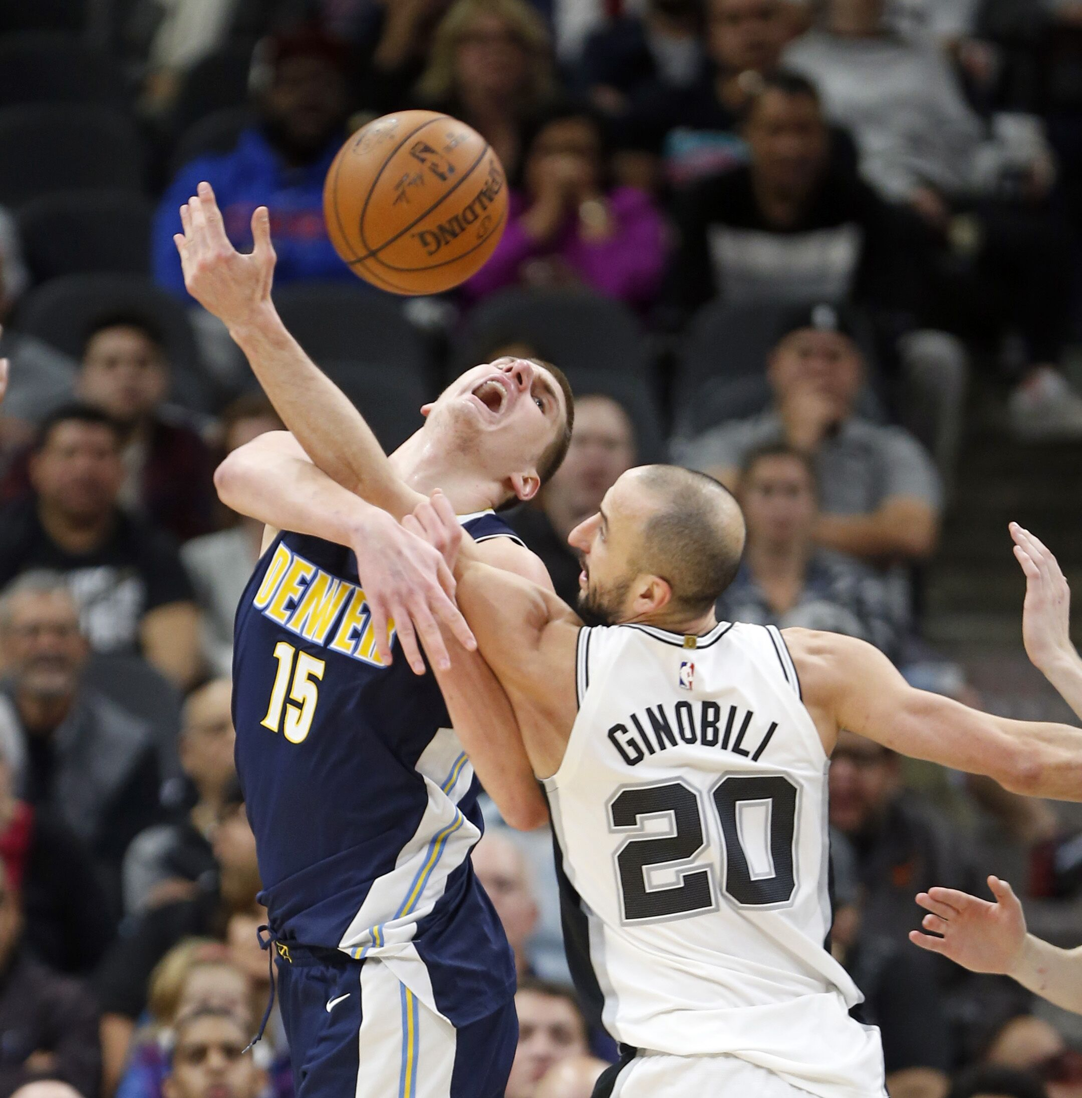 The Nuggets Fell To The Spurs In Another Close Battle