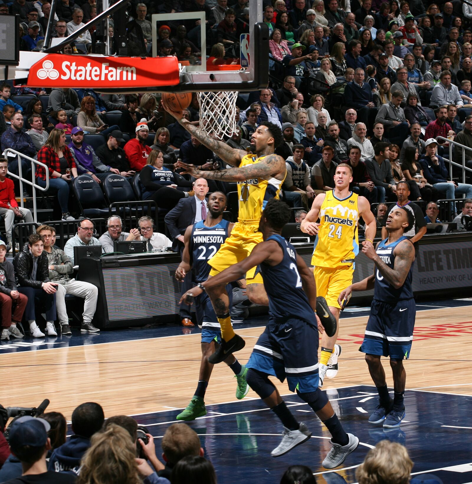 Denver Nuggets Struggling Without Star Power: The Denver Nuggets' Wilson Chandler Will Math Up With
