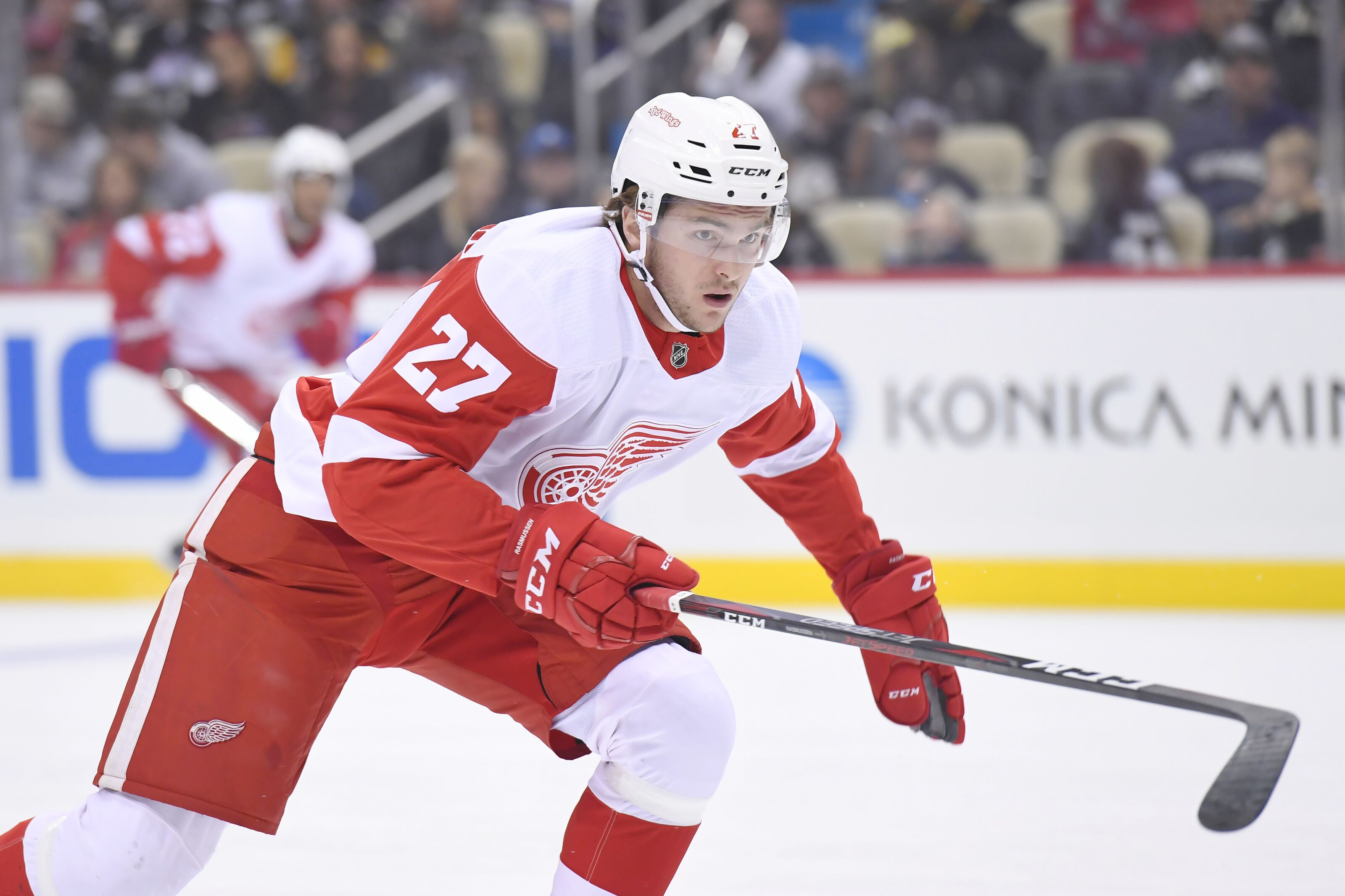 Detroit Red Wings  Rasmussen scores and Update on Green b6b3460ab