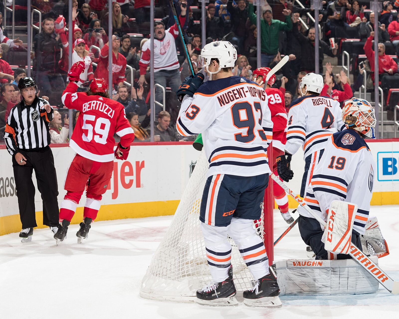 Detroit Red Wings The Streak Is Broken With A Loss To The