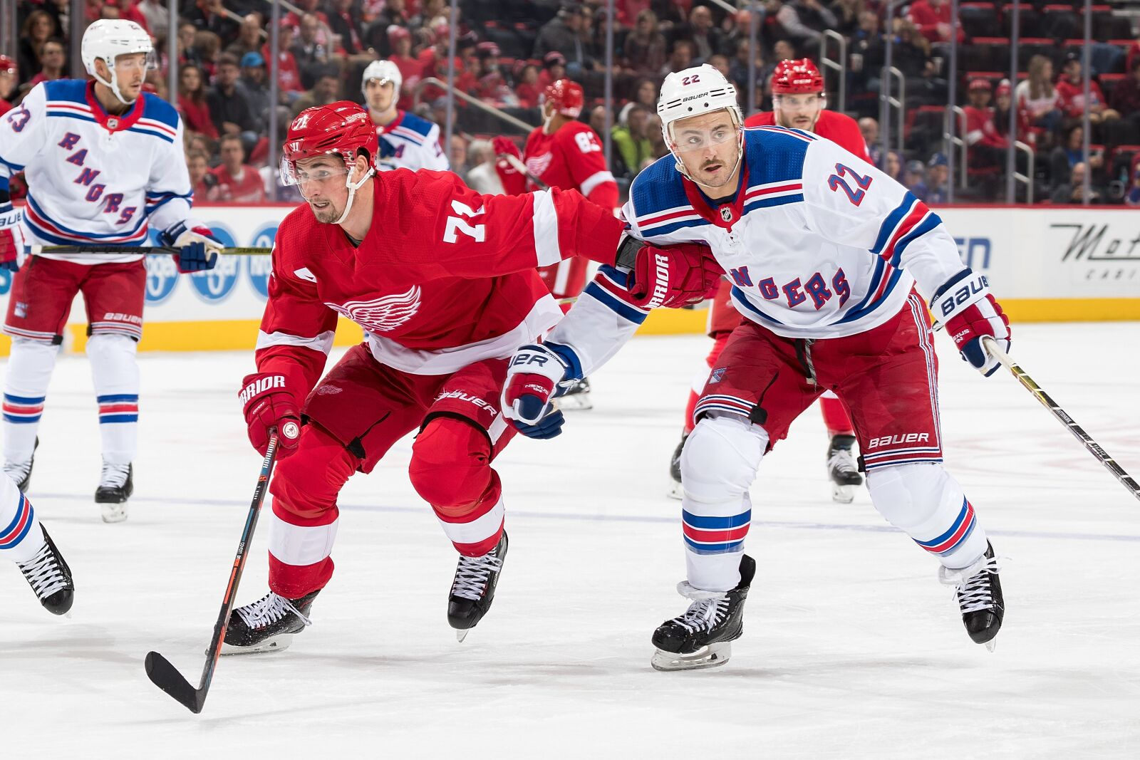 The Detroit Red Wings Storm back after the Penalty Kill let them down